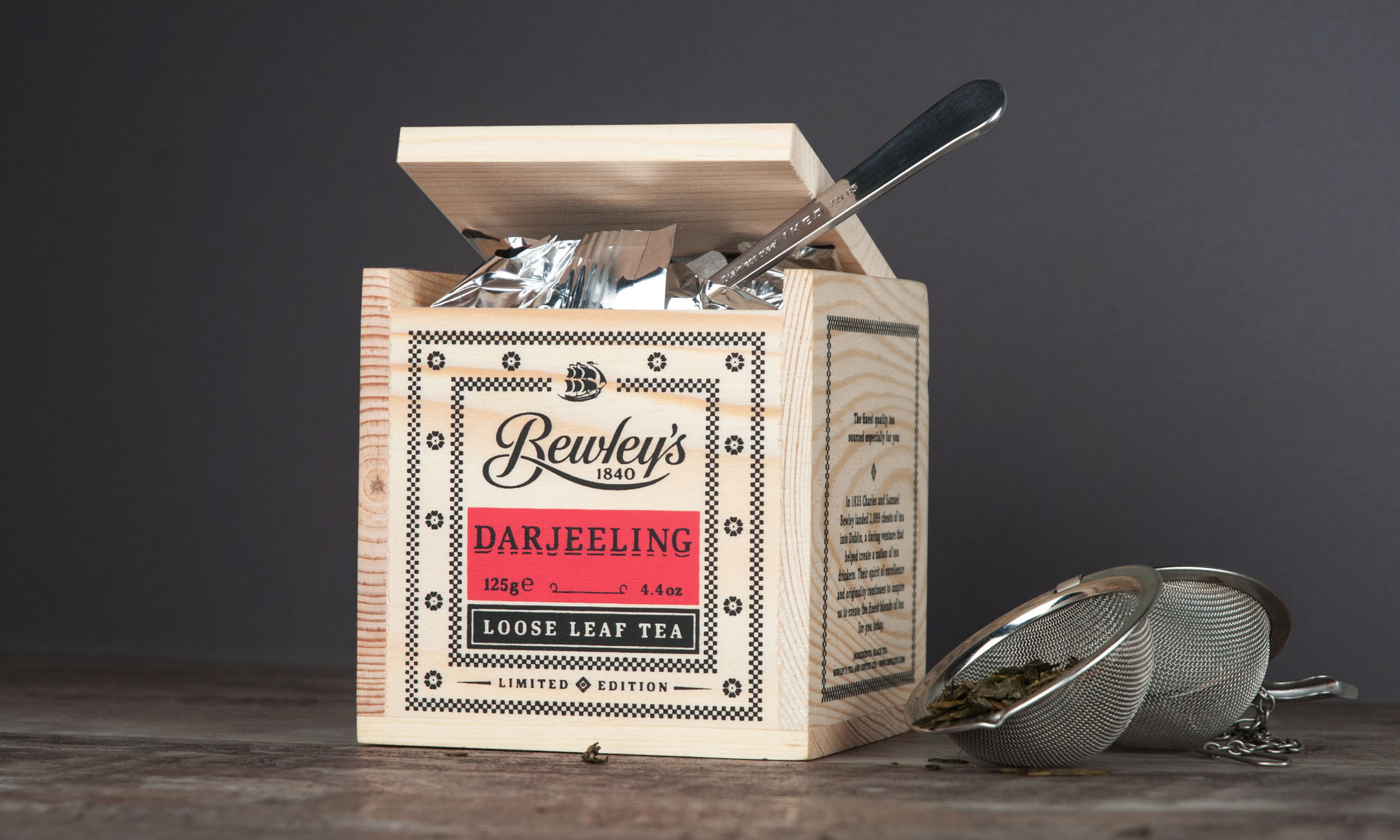 Cover image: Bewley's Tea Chests