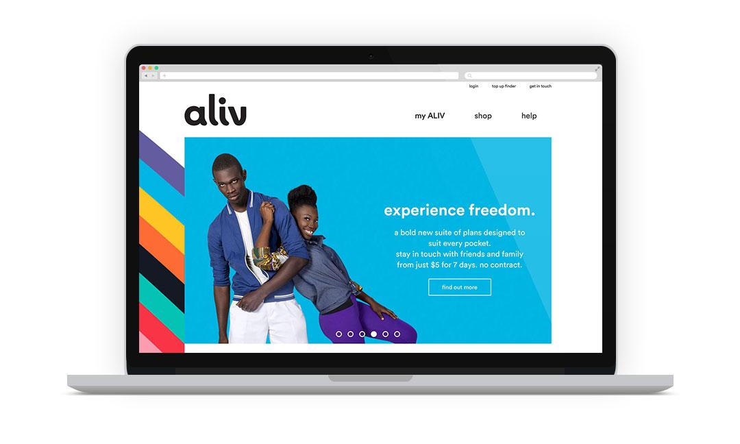 Cover image: Aliv website