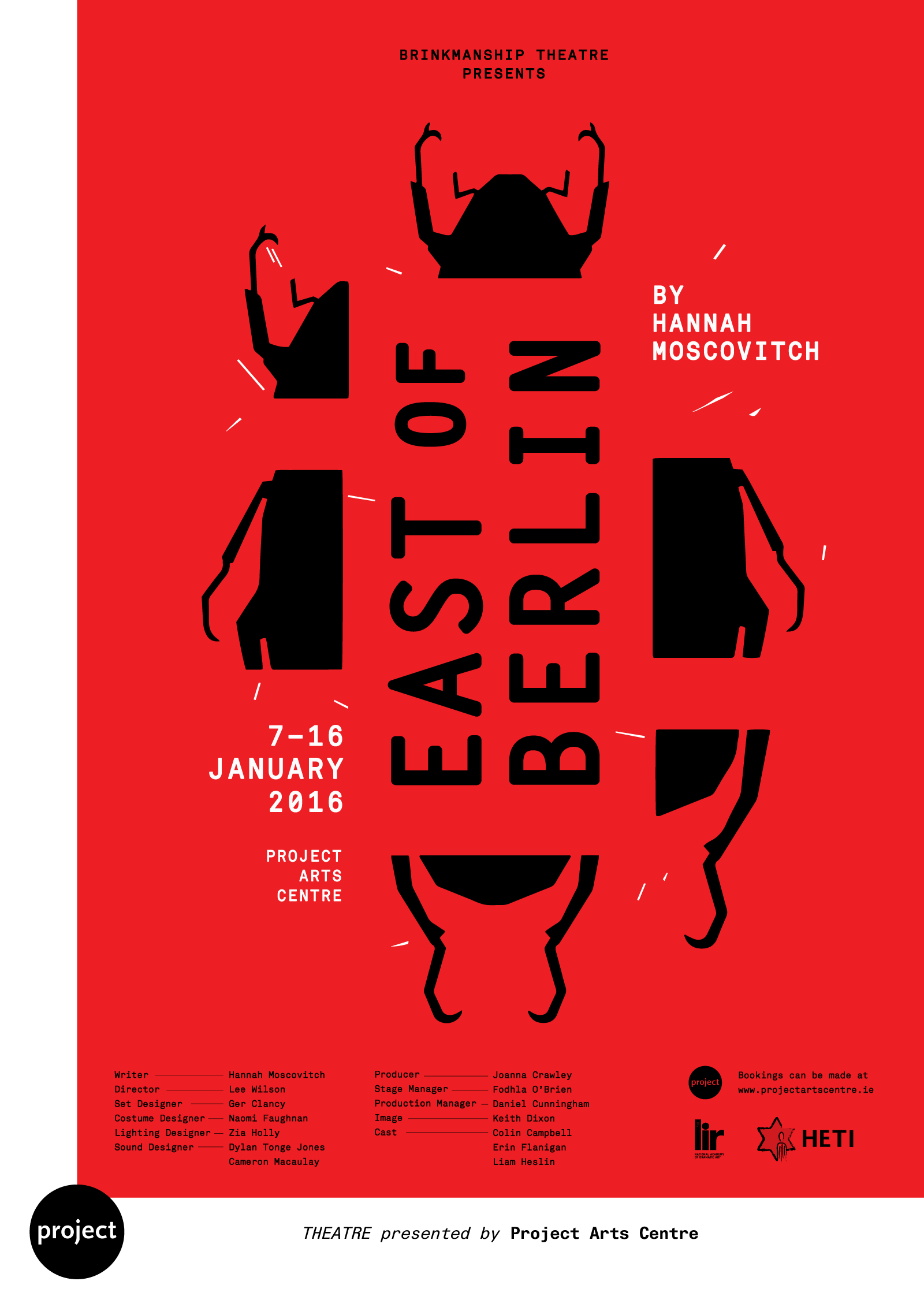 Cover image: East of Berlin