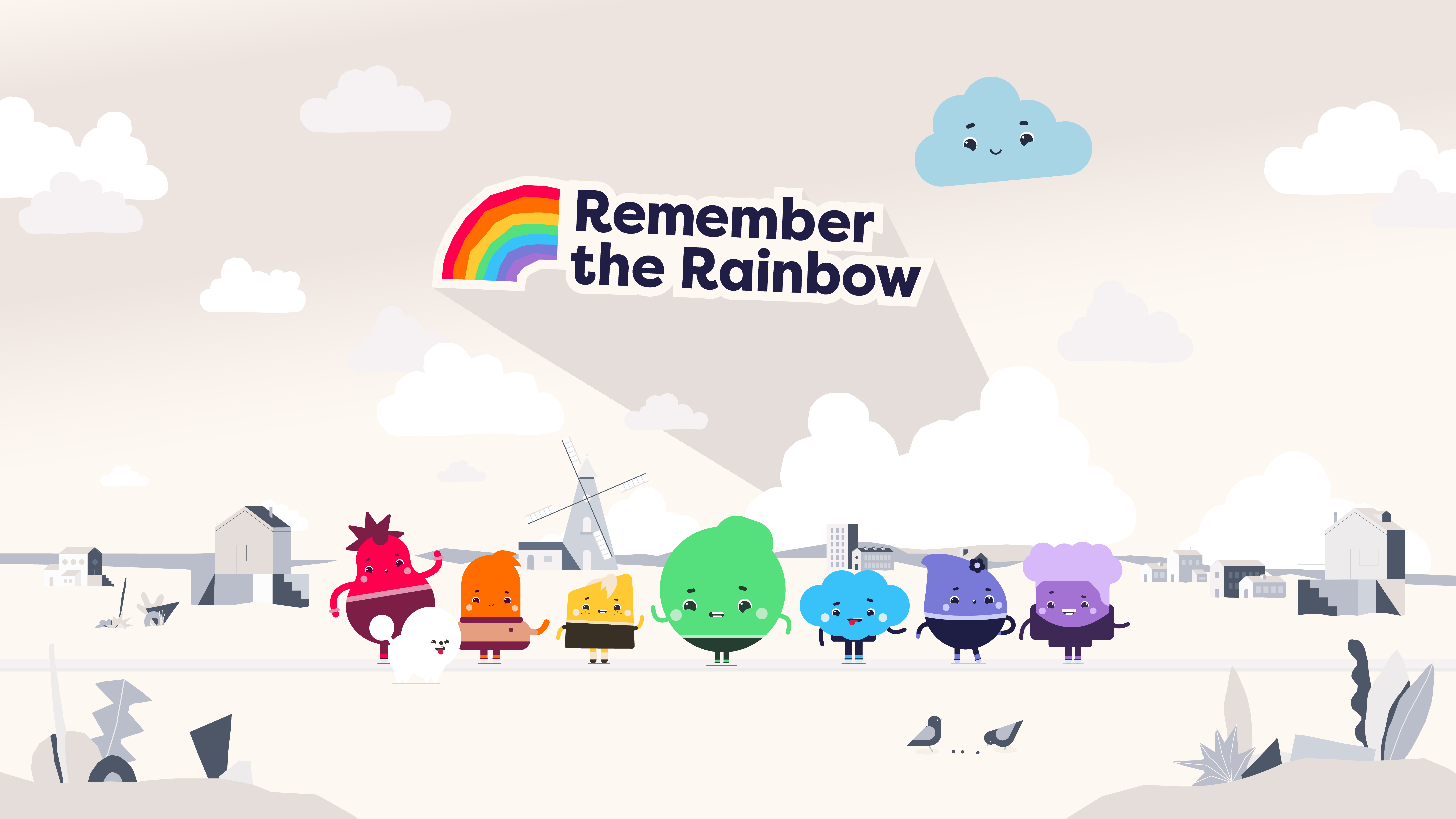 Cover image: Remember the Rainbow