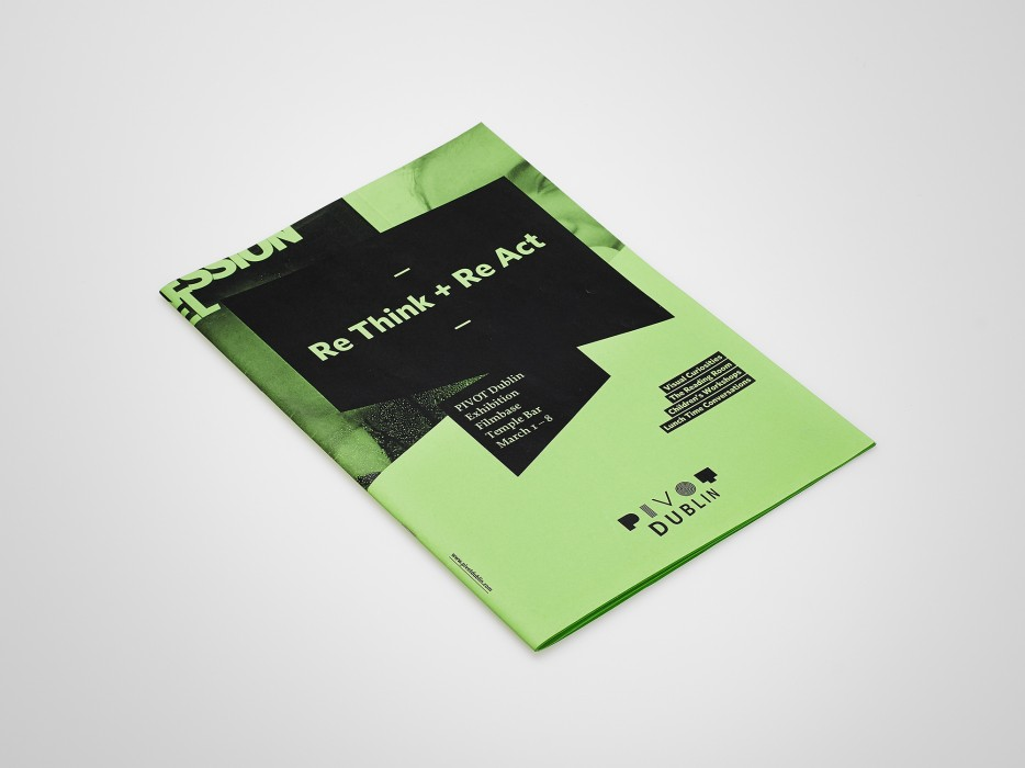 Cover image: Re Think + Re Act – A PIVOT Dublin initiative