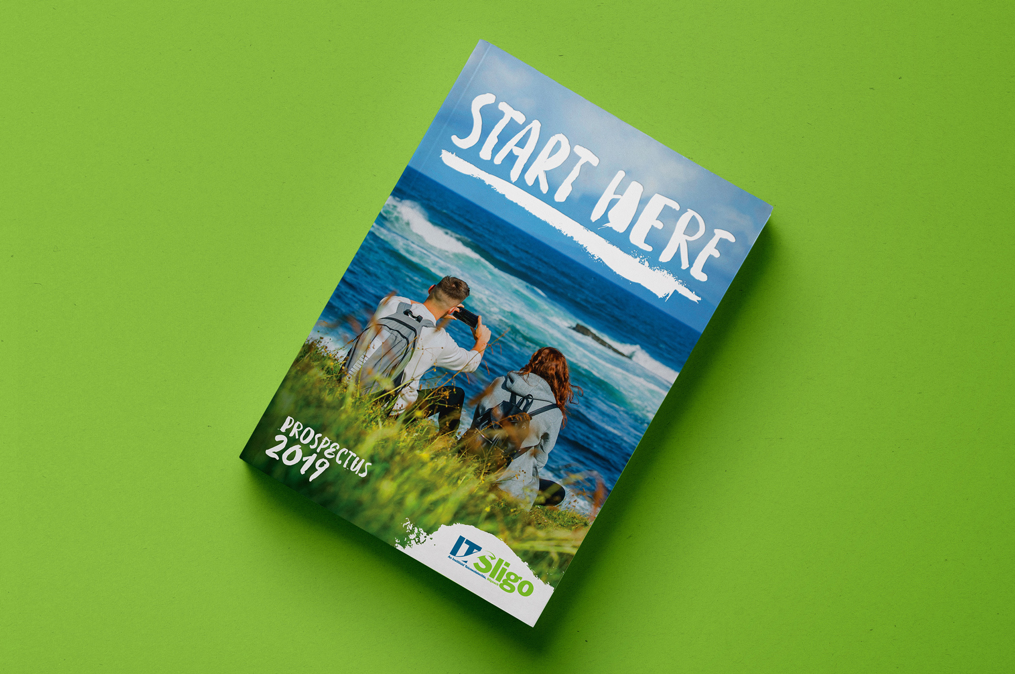 Cover image: IT Sligo Prospectus