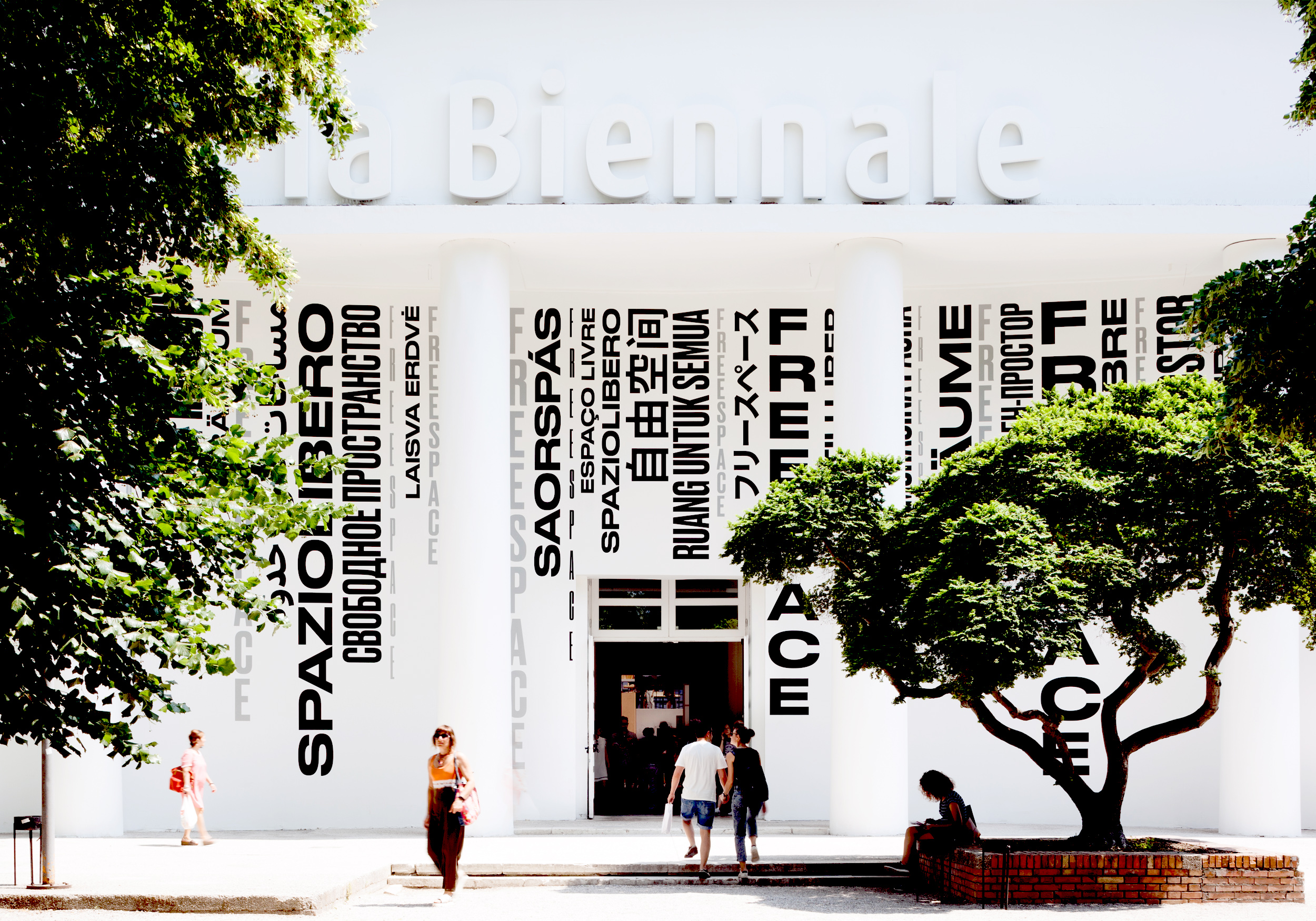 Cover image: FREESPACE – Visual Identity for the 16th International Architecture Exhibition (La Biennale di Venez
