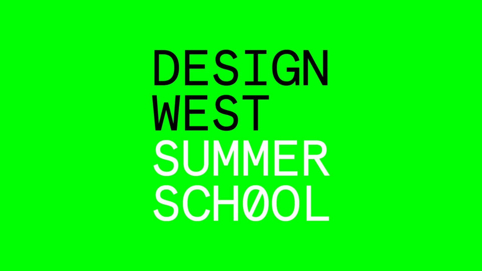 Cover image: Design West Promotional Video