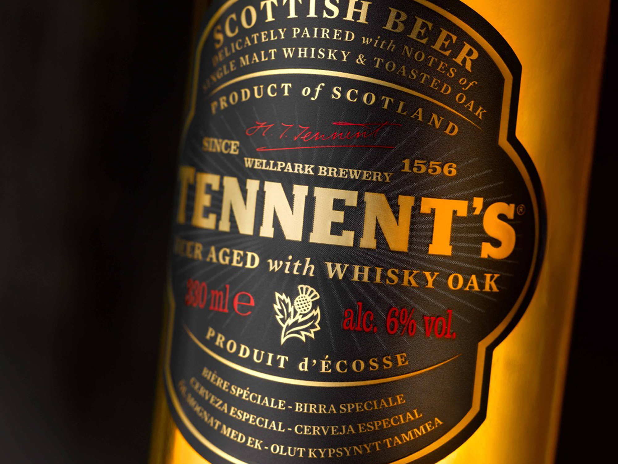 Cover image: Tennent's Whisky Oak Aged Beer