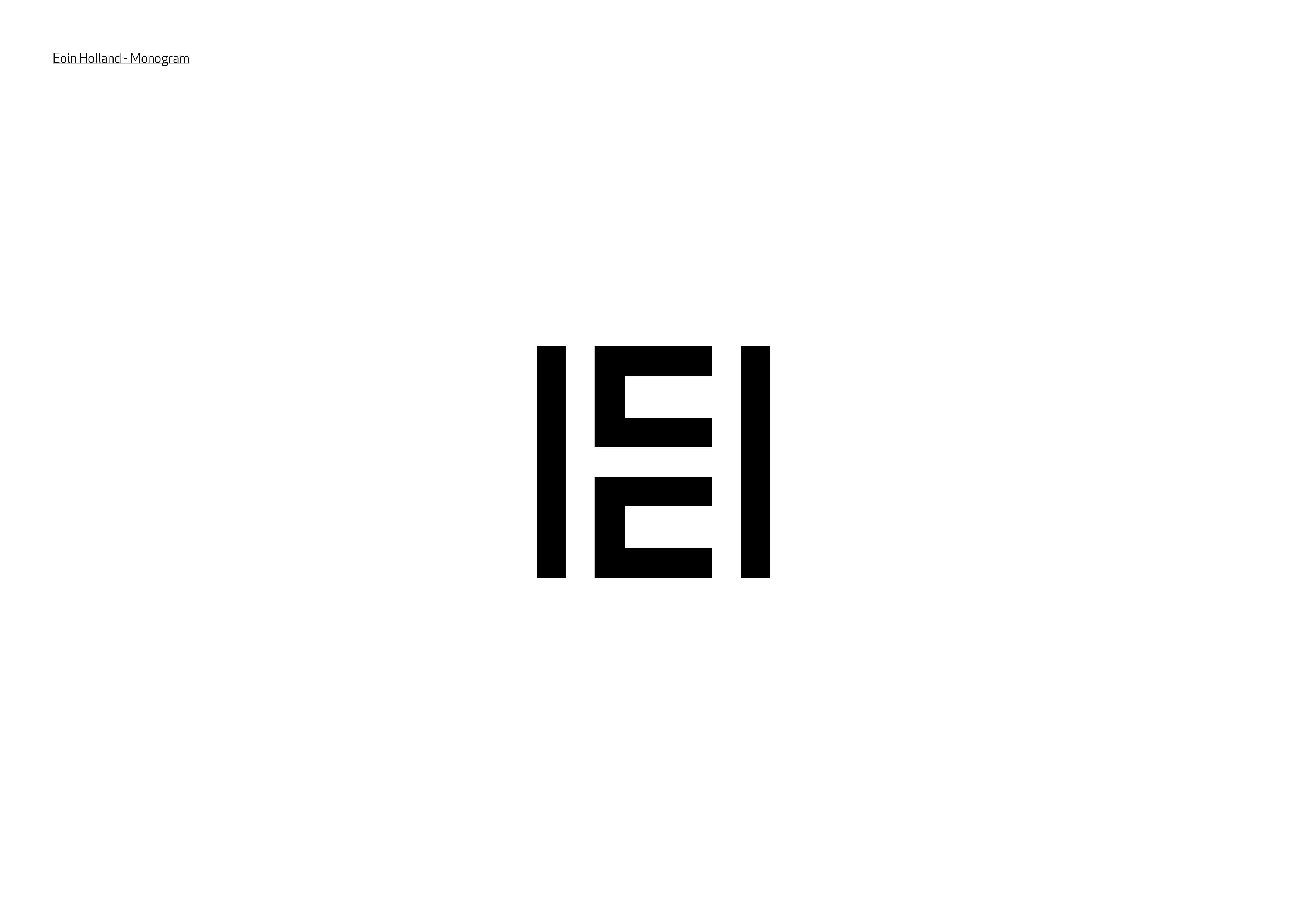 Cover image: Eoin Holland Branding
