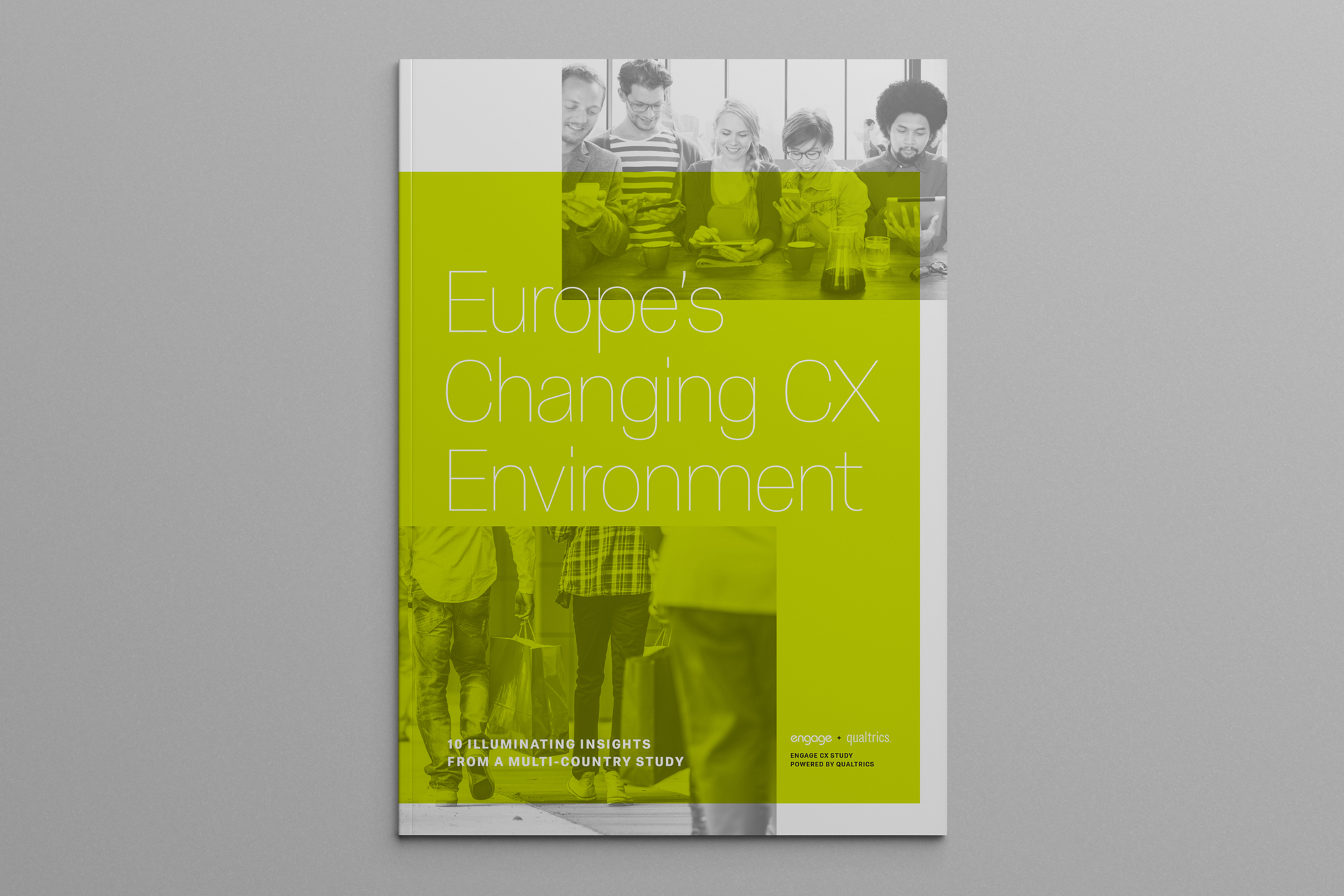 Cover image: Europe's Changing CX Environment