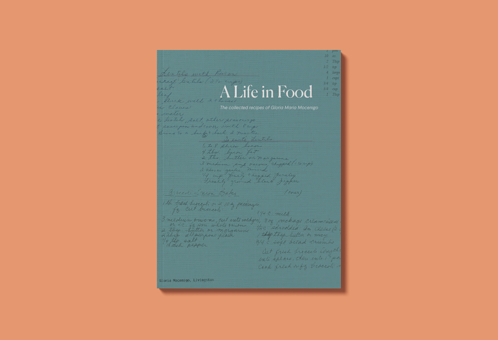 Cover image: A Life In Food