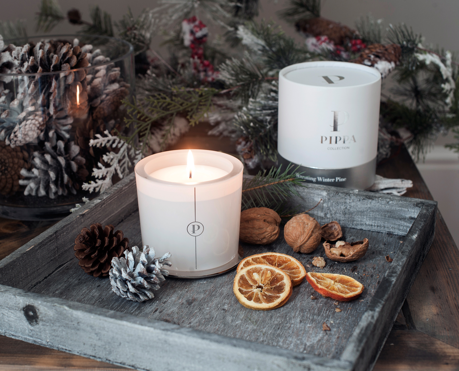 Cover image: Pippa Collection Candle Range