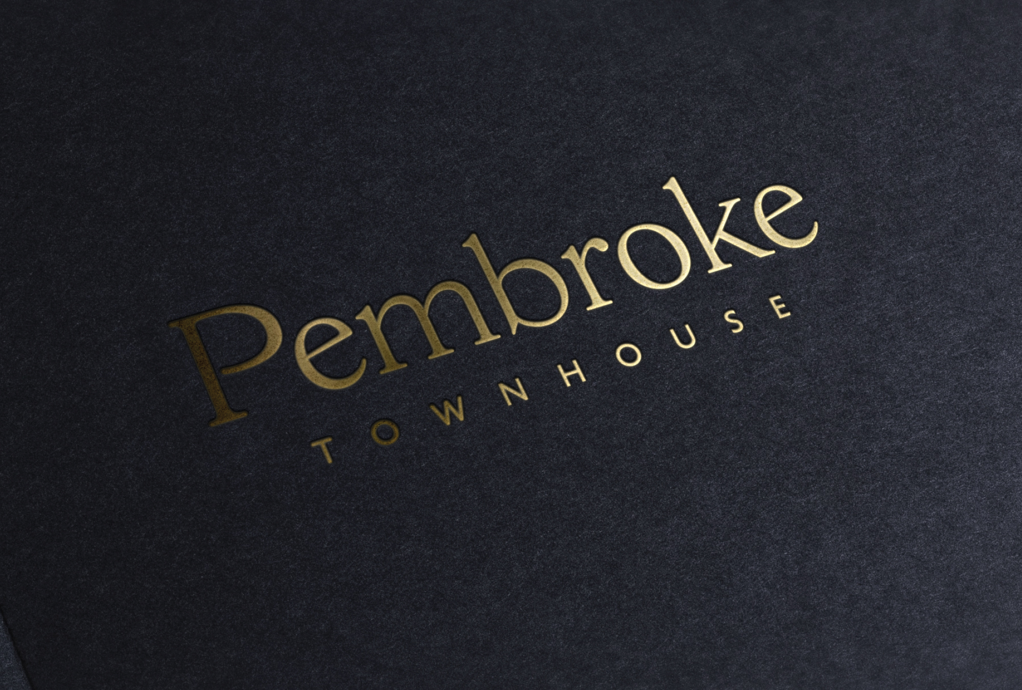 Cover image: Pembroke Townhouse