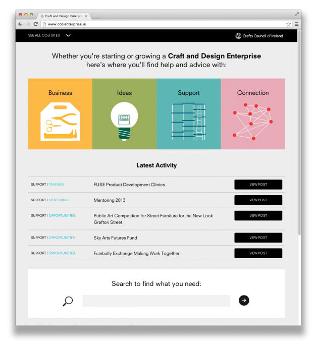 Cover image: CCoI Enterprise Website