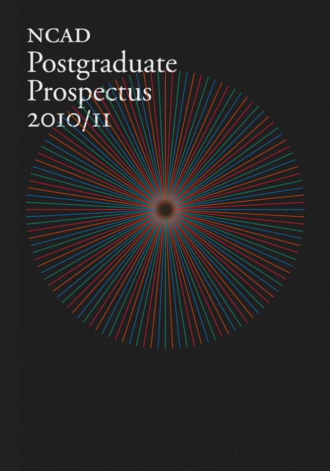 Cover image: NCAD Postgraduate Prospectus (2010)