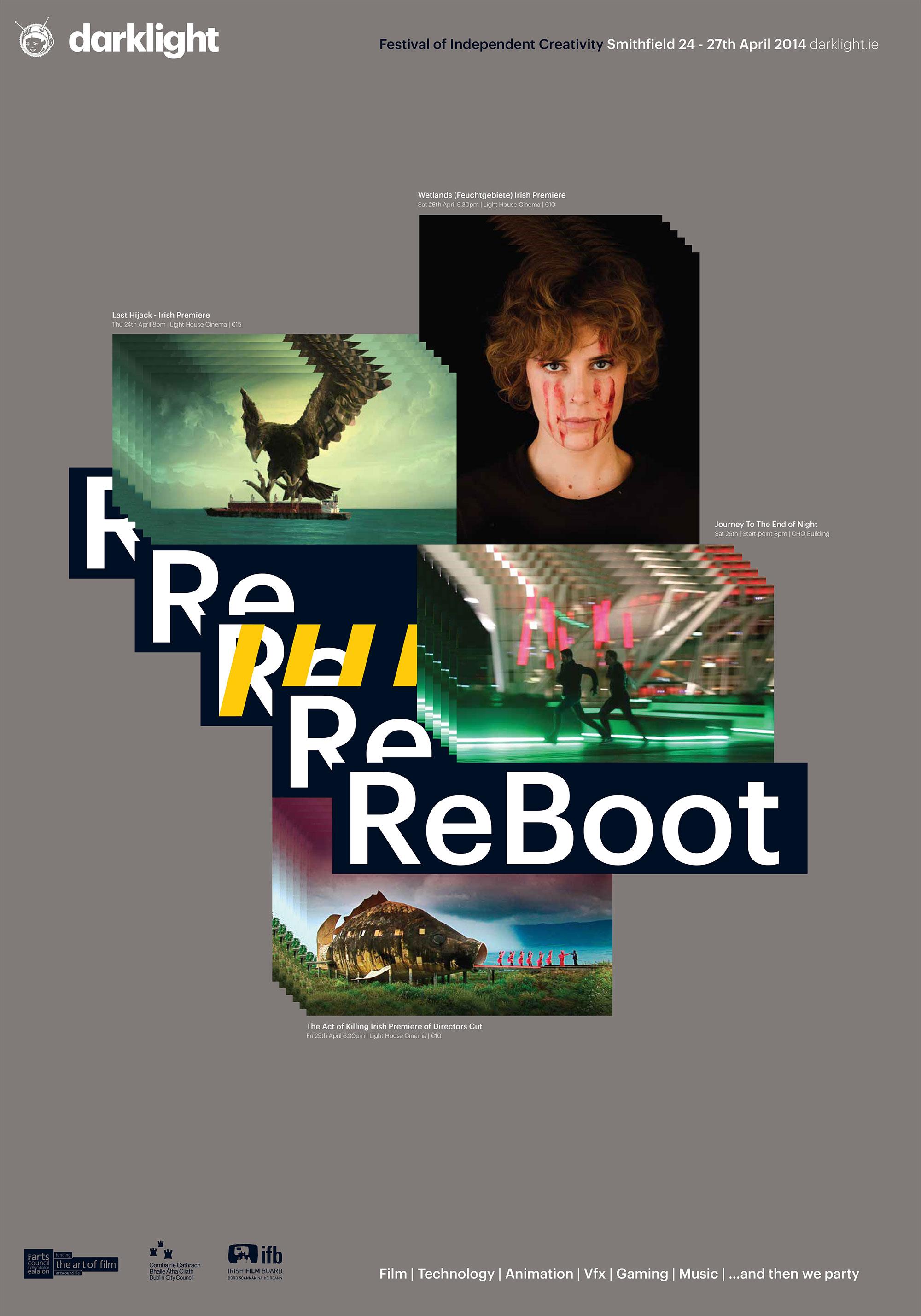 Cover image: Darklight Reboot