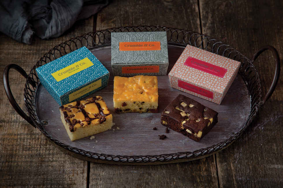 Cover image: Crumble & Co. Packaging