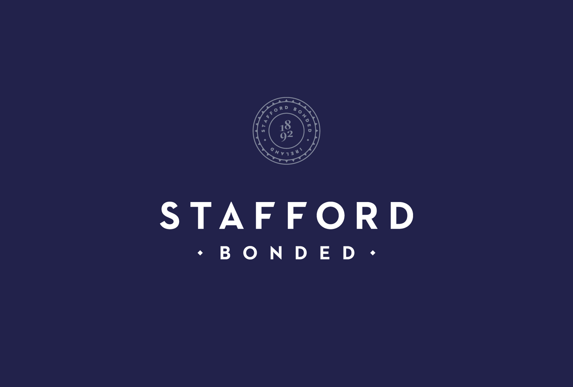 Cover image: Stafford Bonded — Identity