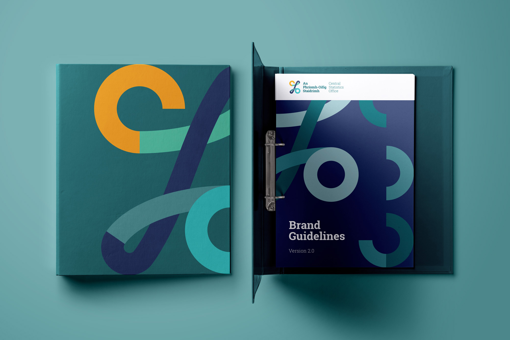 Cover image: Central Statistics Office Branding