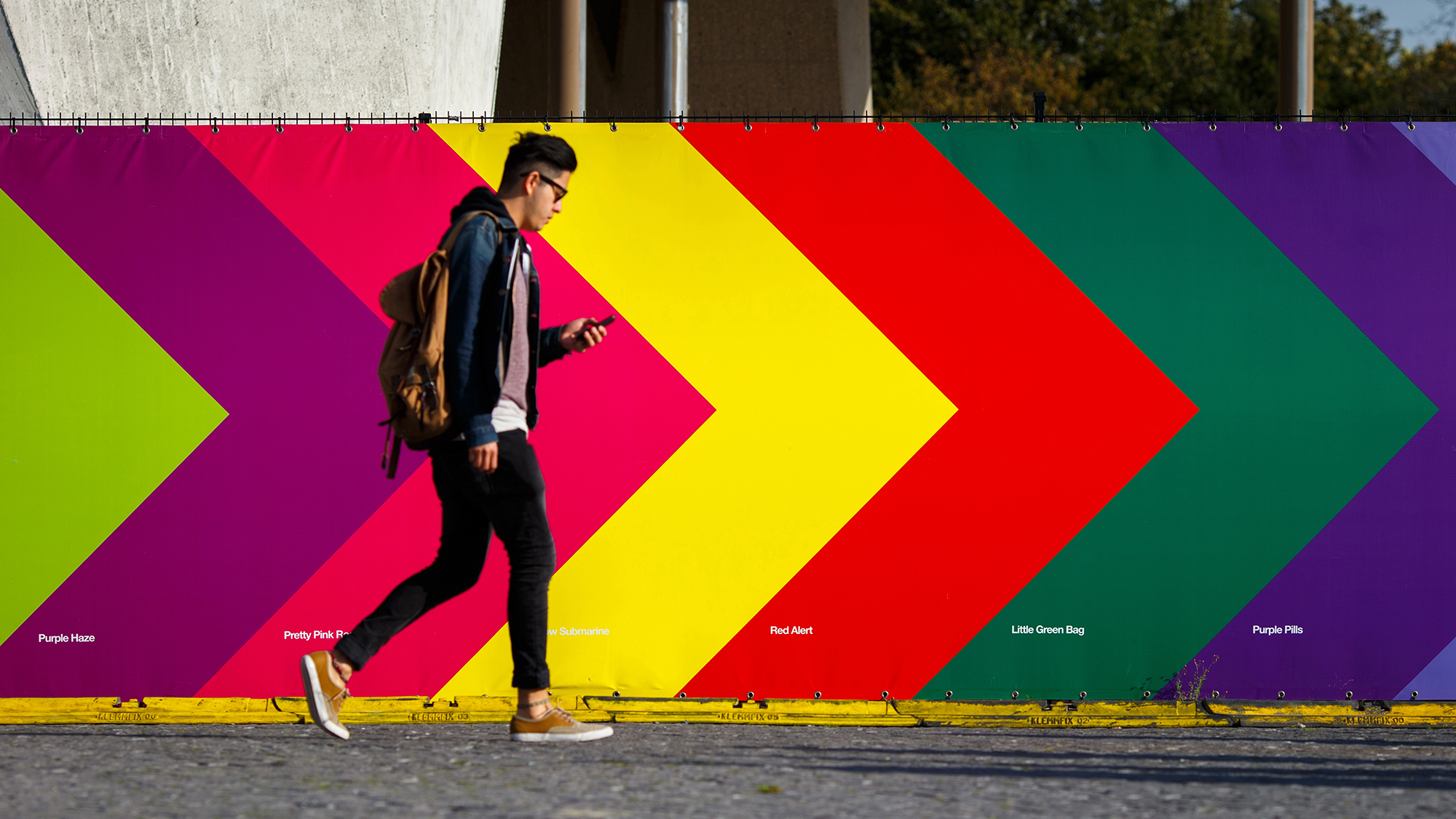 Cover image: A'DAM Colourful Songs (Hoarding)