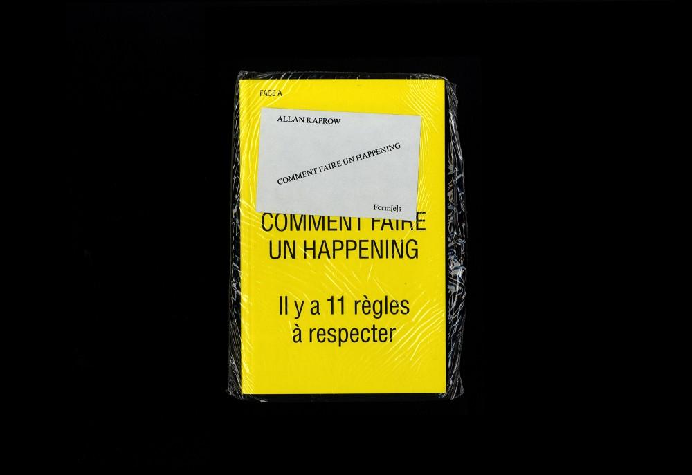 Cover image: Allan Kaprow: Comment Faire Un Happening