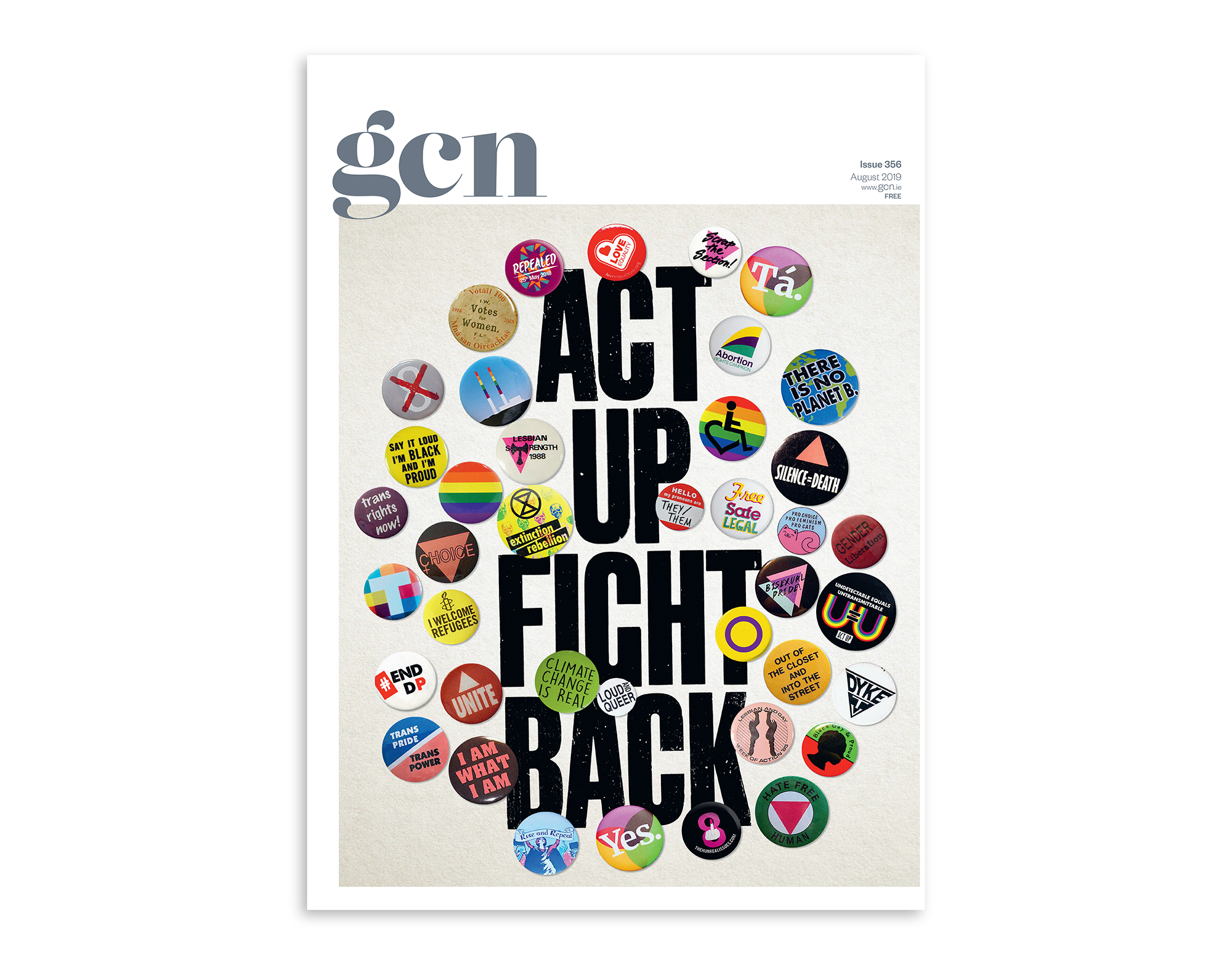 Cover image: ACT UP FIGHT BACK