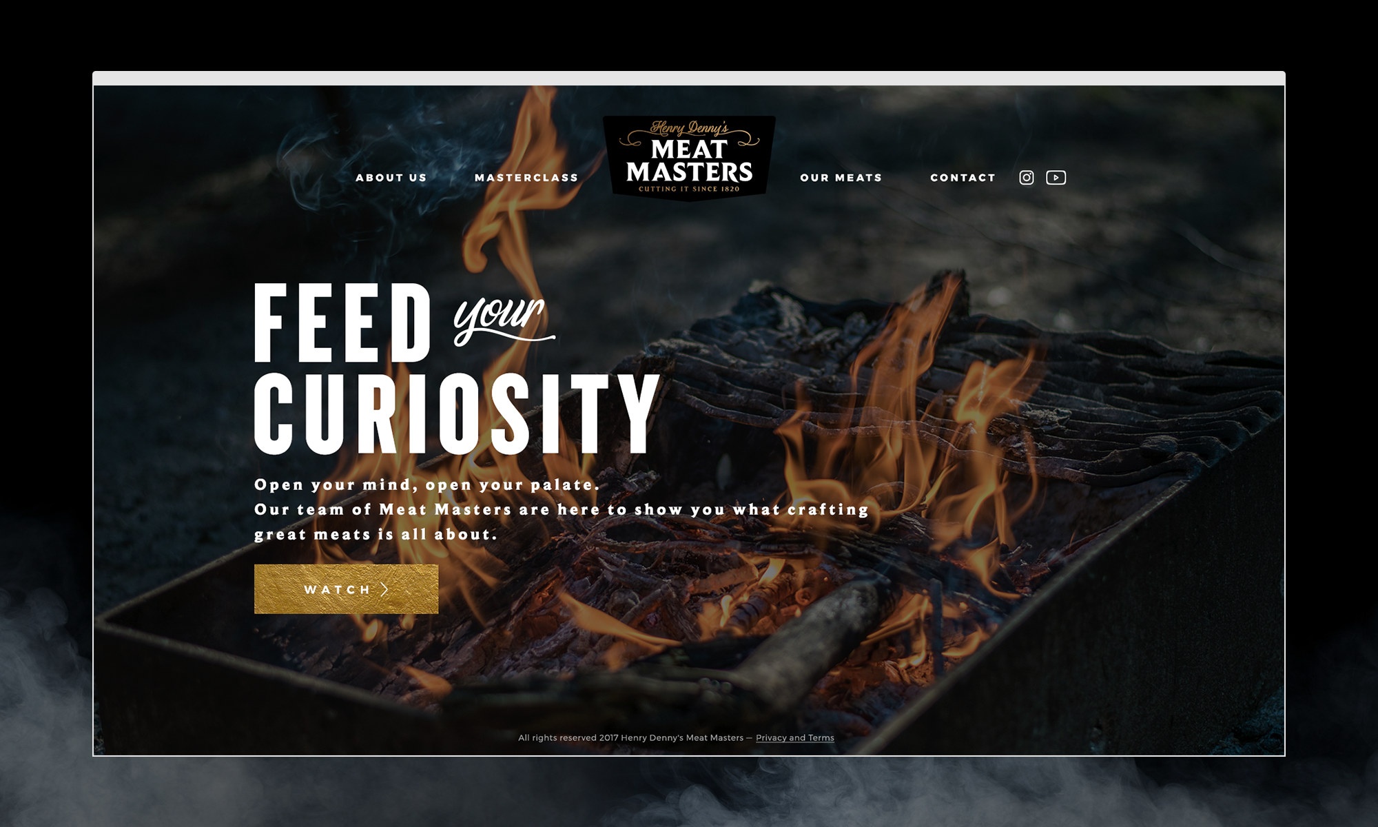 Cover image: Henry Denny's Meat Masters website