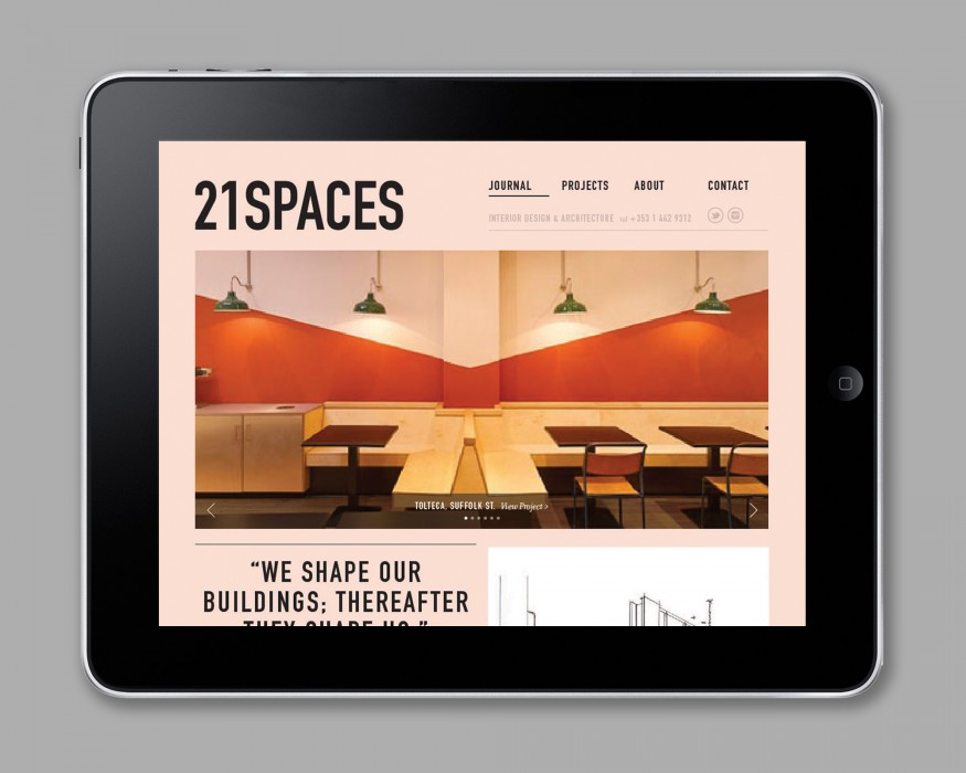 Cover image: 21 Spaces