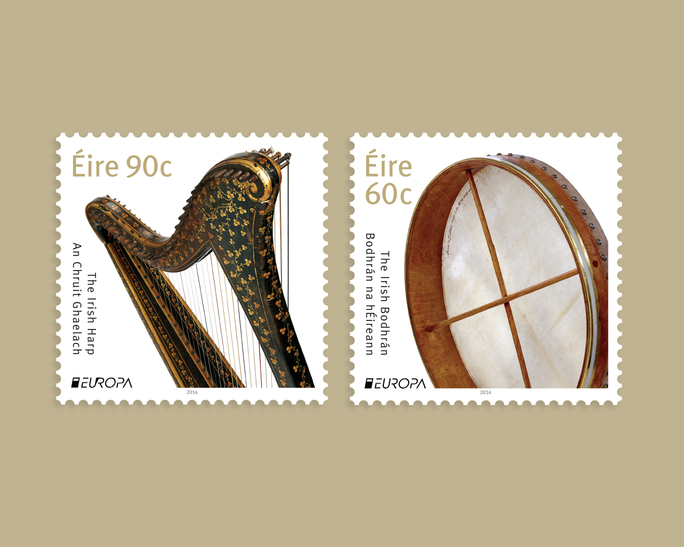 Cover image: An Post Europa Stamps 2014