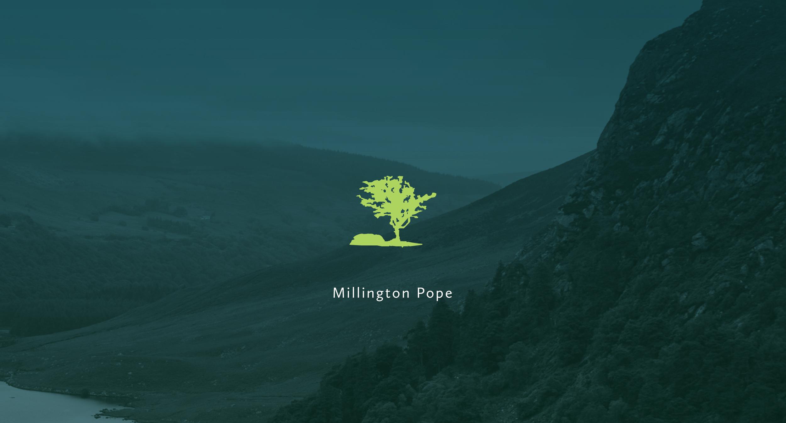 Cover image: Millington Pope
