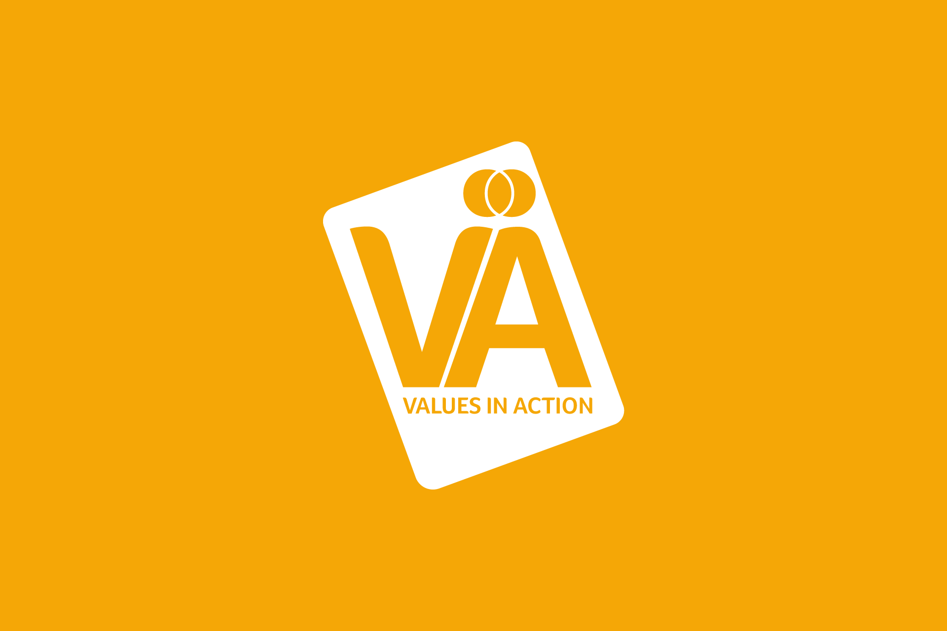 Cover image: Values in Action Brand Identity