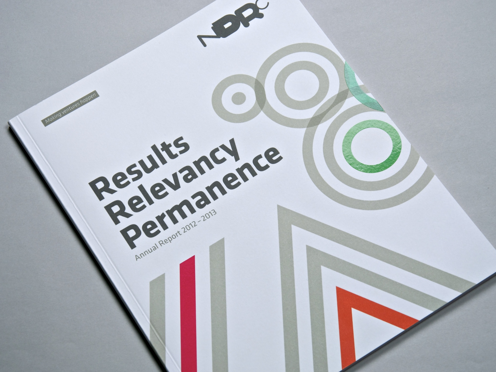 Cover image: NDRC Annual Report 2012–2013