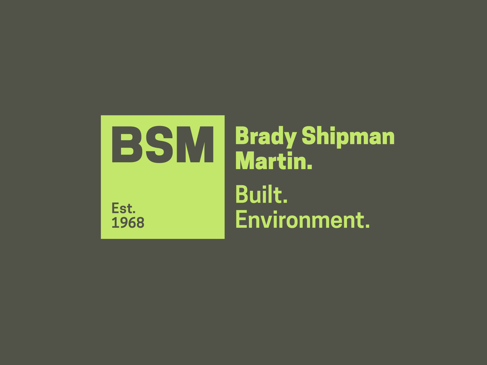 Cover image: BSM Identity