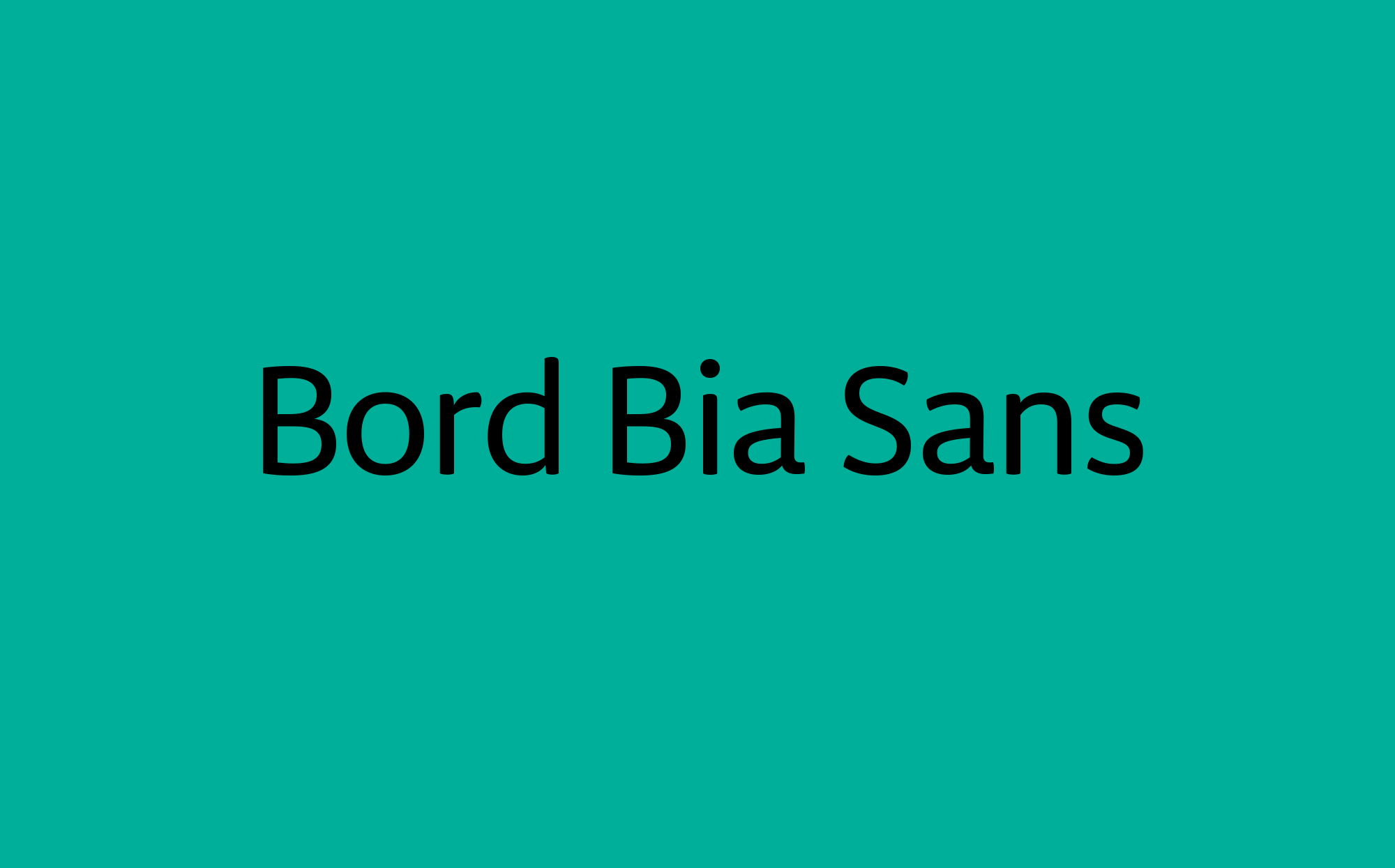 Cover image: Bord Bia Sans