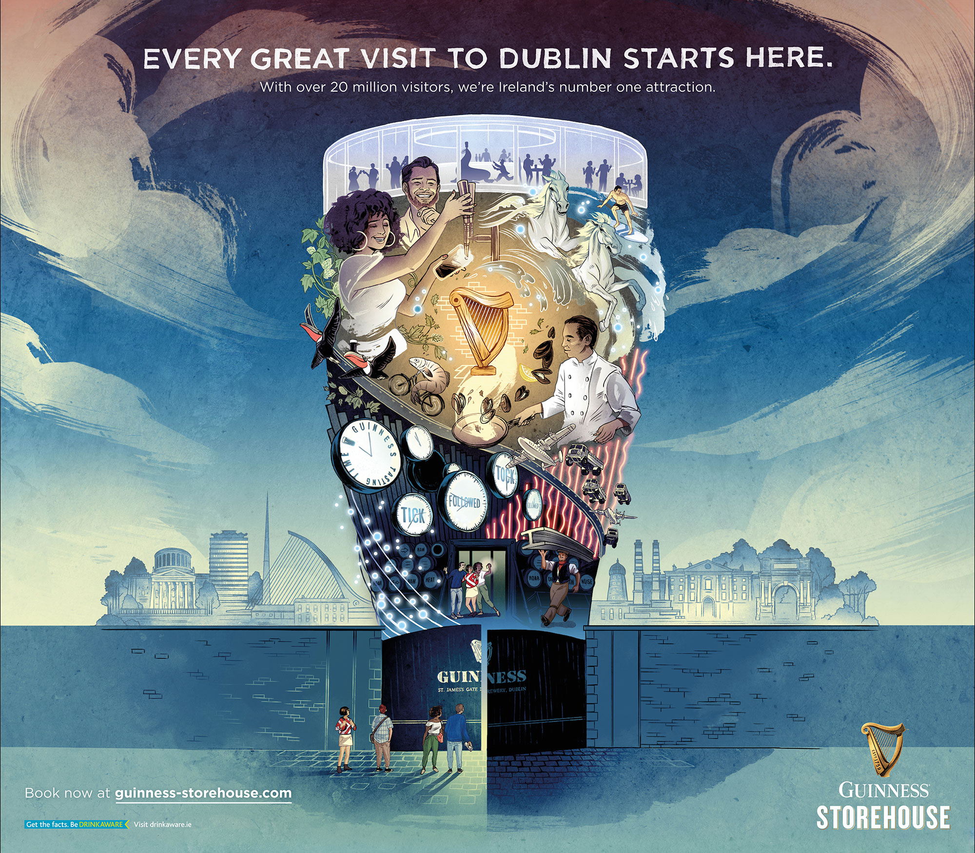 Cover image: Guinness Storehouse experience visual