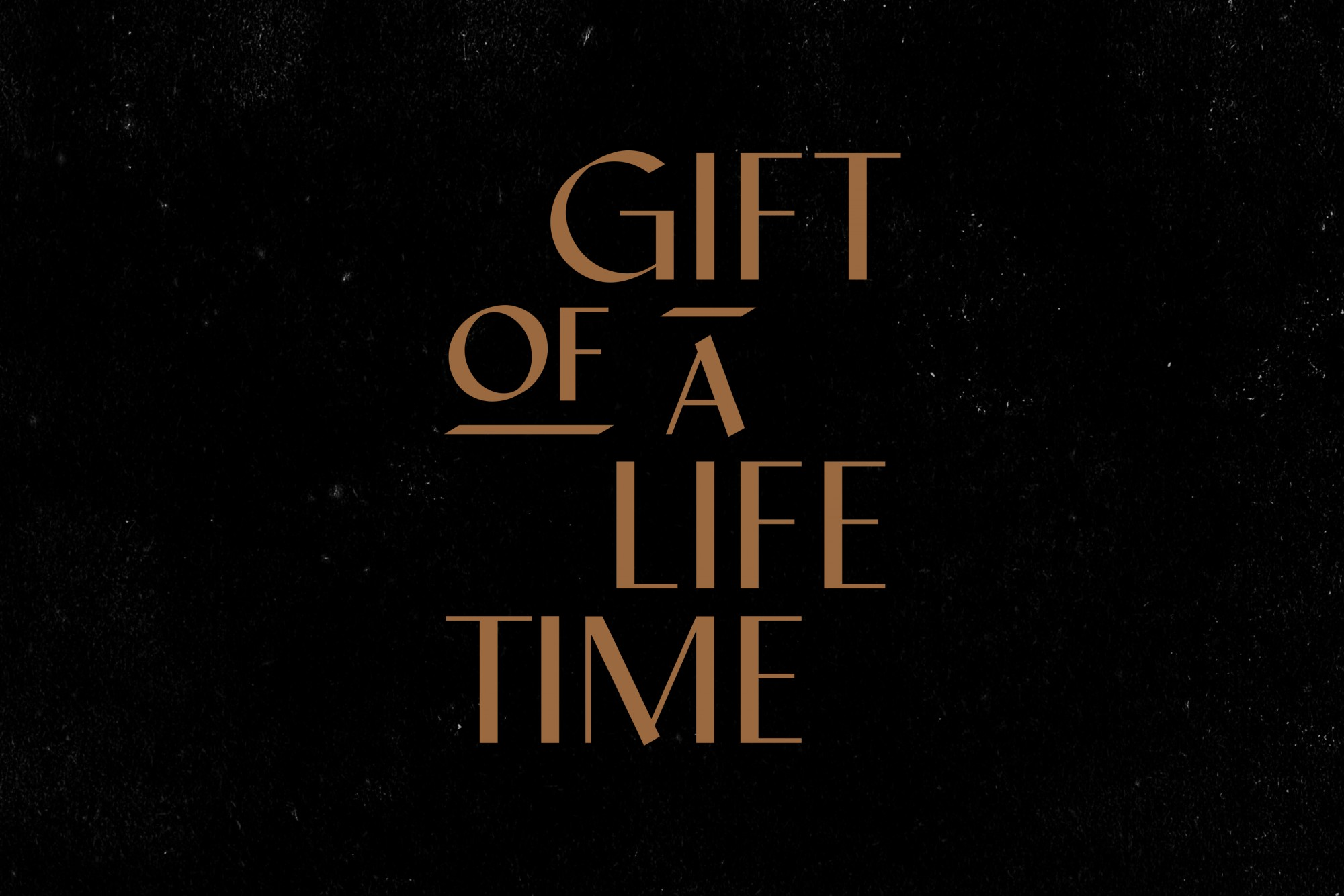 Cover image: Gift of a Lifetime