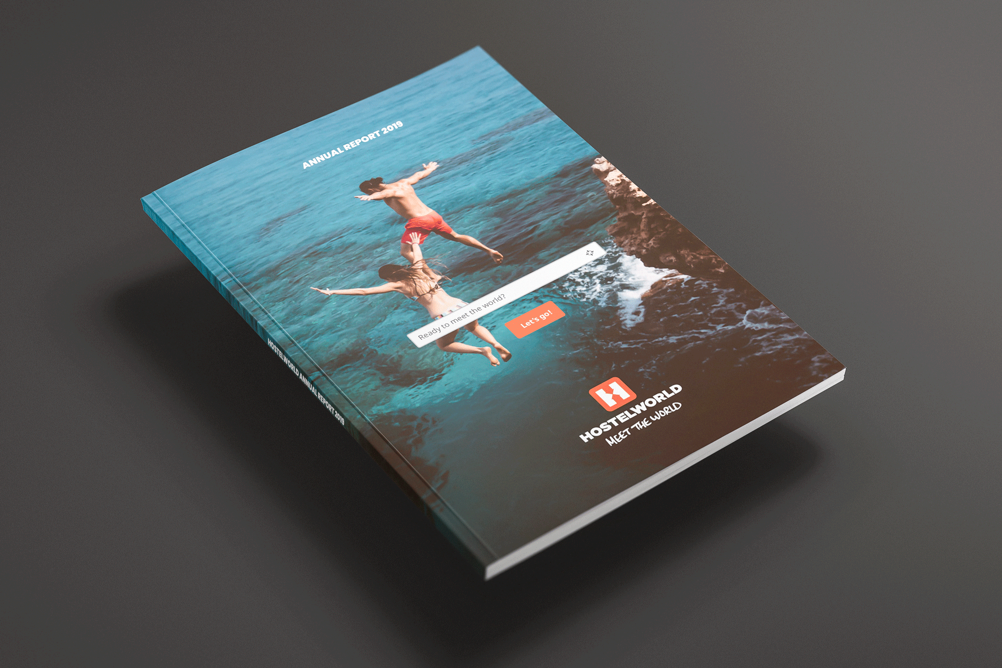 Cover image: Hostelworld Annual Report