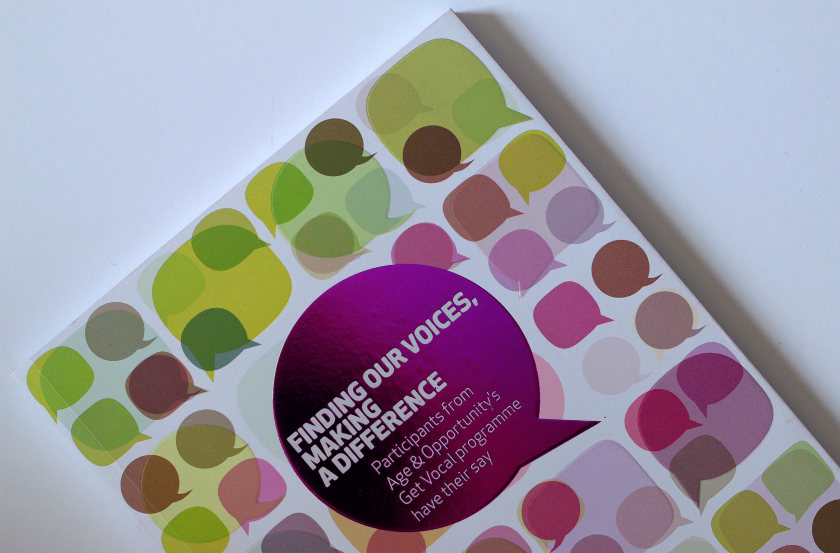 Cover image: Finding our Voices, Making a Difference (2014)