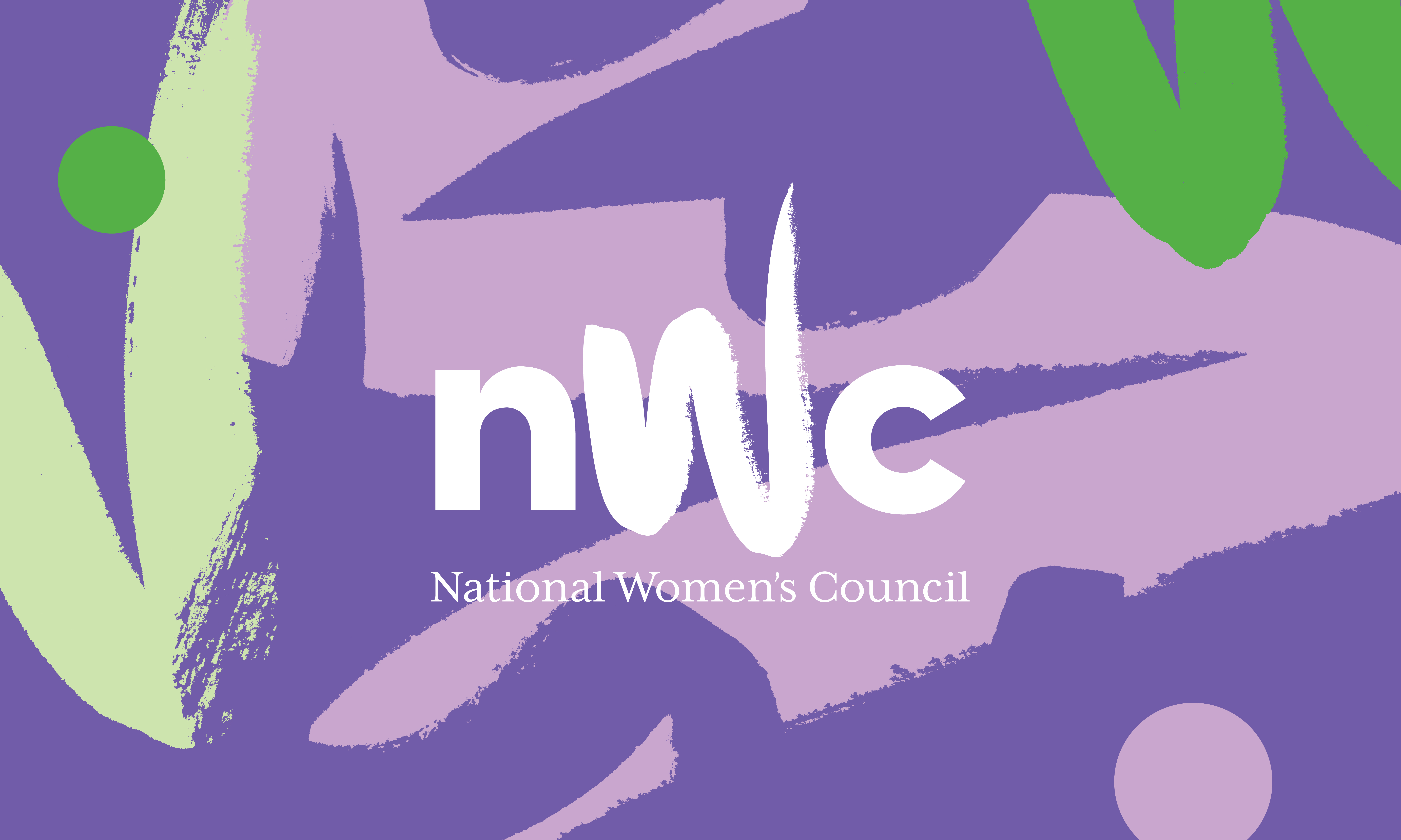 Cover image: National Women's Council Identity