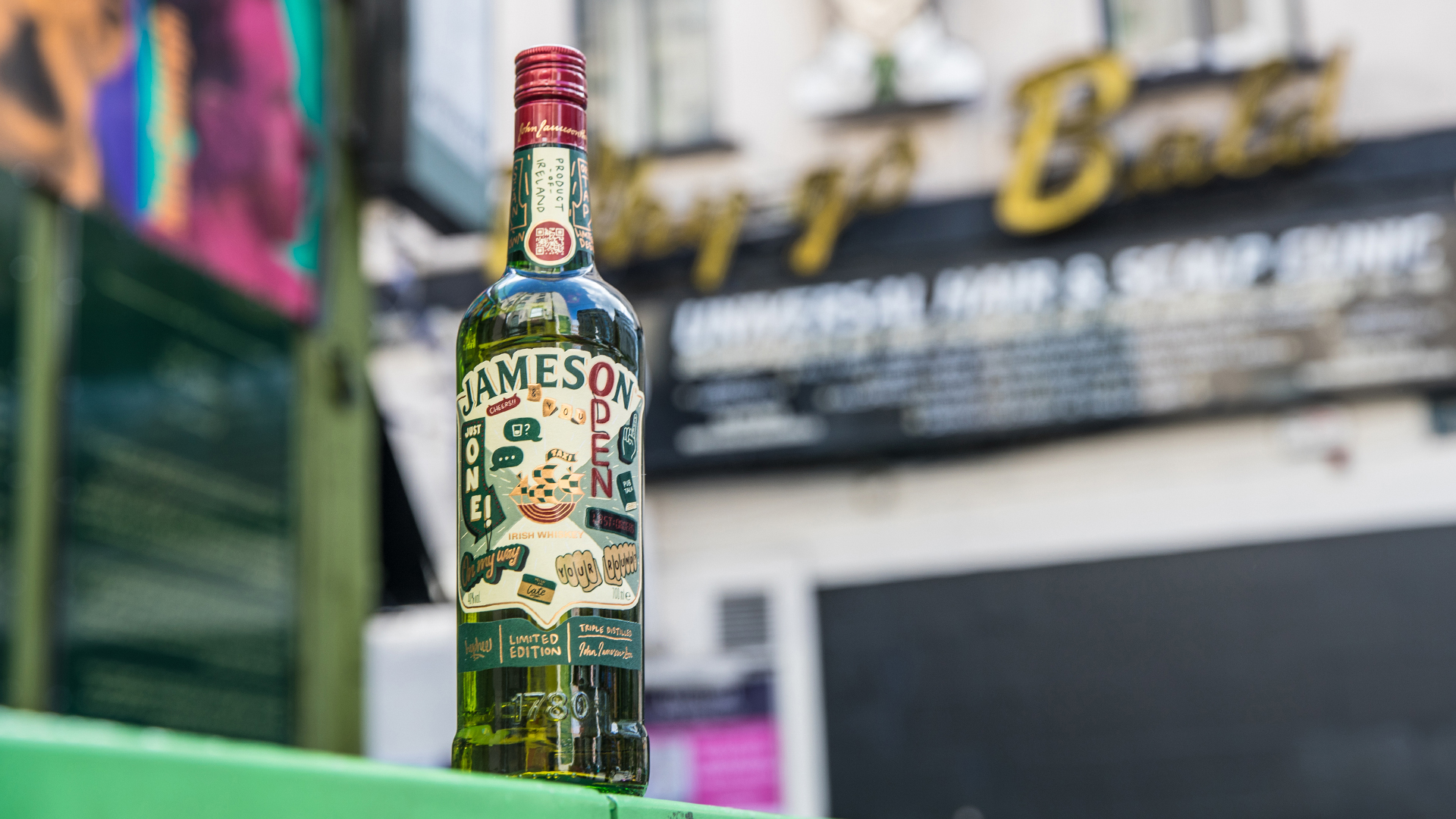 Cover image: Jameson 2020 Limited Edition Bottle design