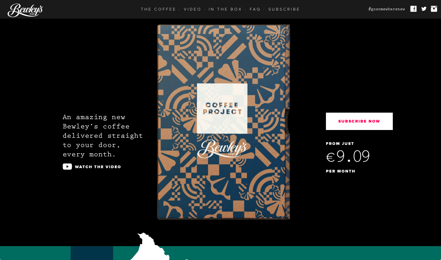 Cover image: Bewley's Coffee Project – Online