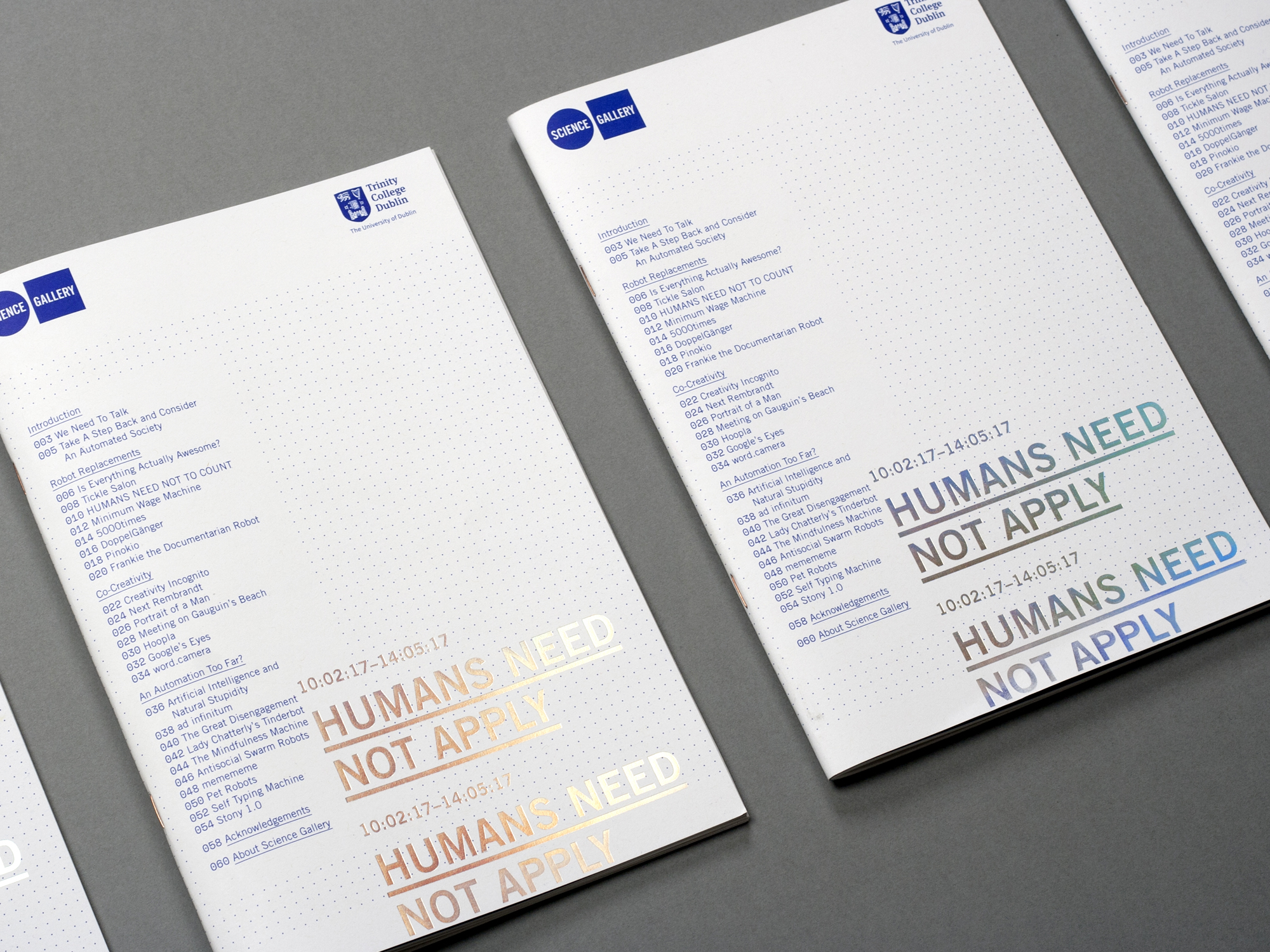 Cover image: Humans Need Not Apply