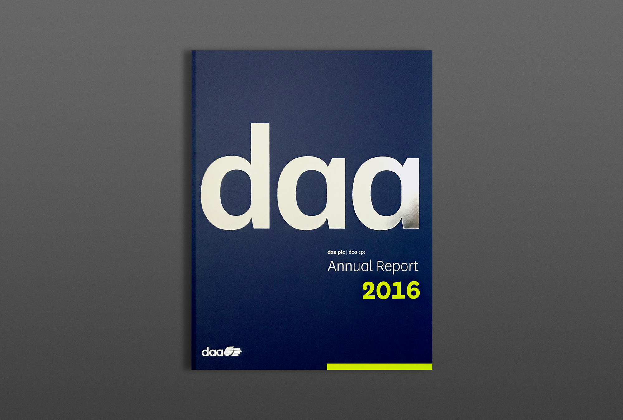 Cover image: DAA Financials & Annual Report, 2016