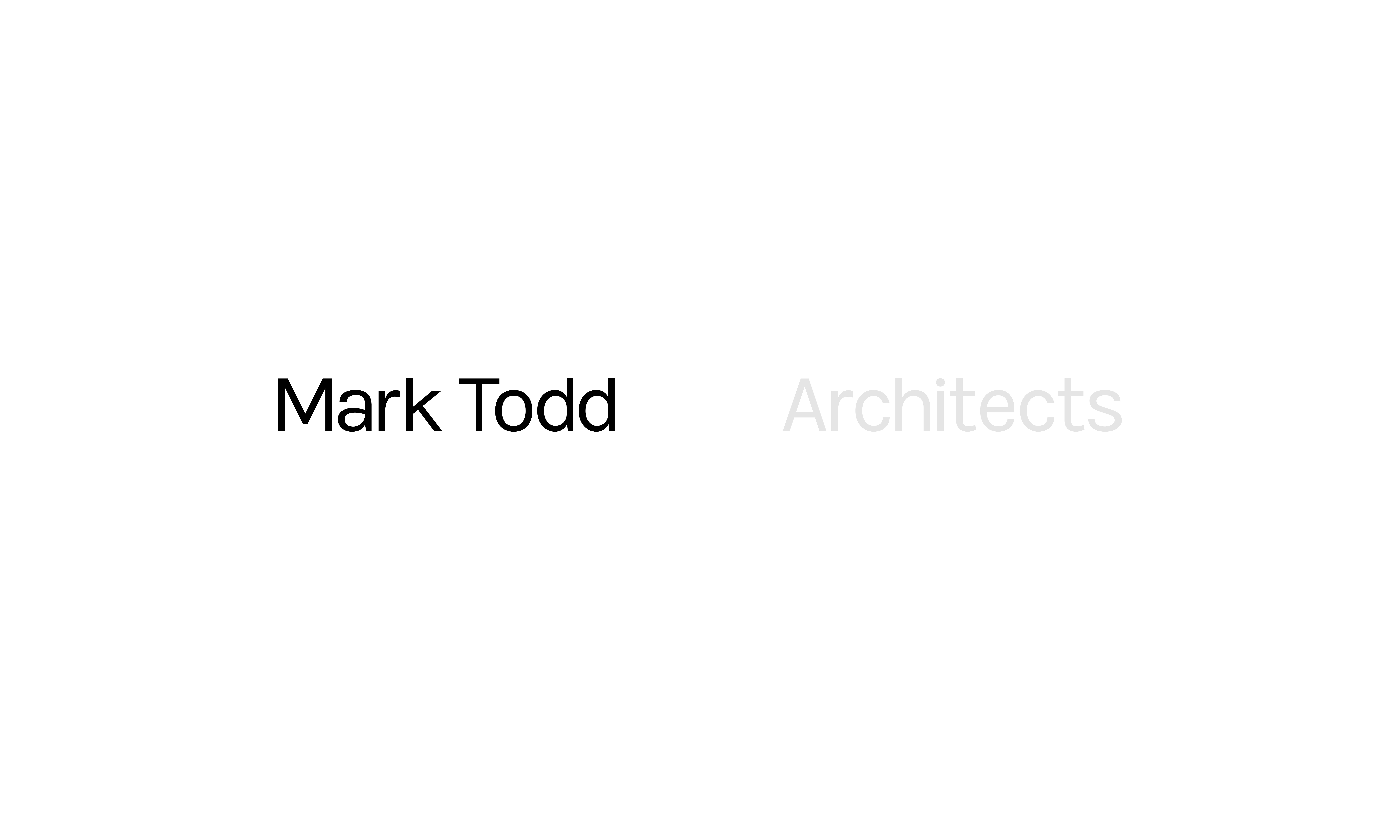 Cover image: Mark Todd Architects