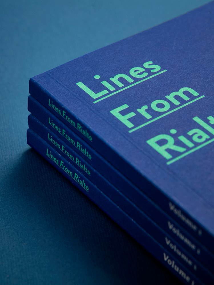Cover image: Lines From Rialto (2016)