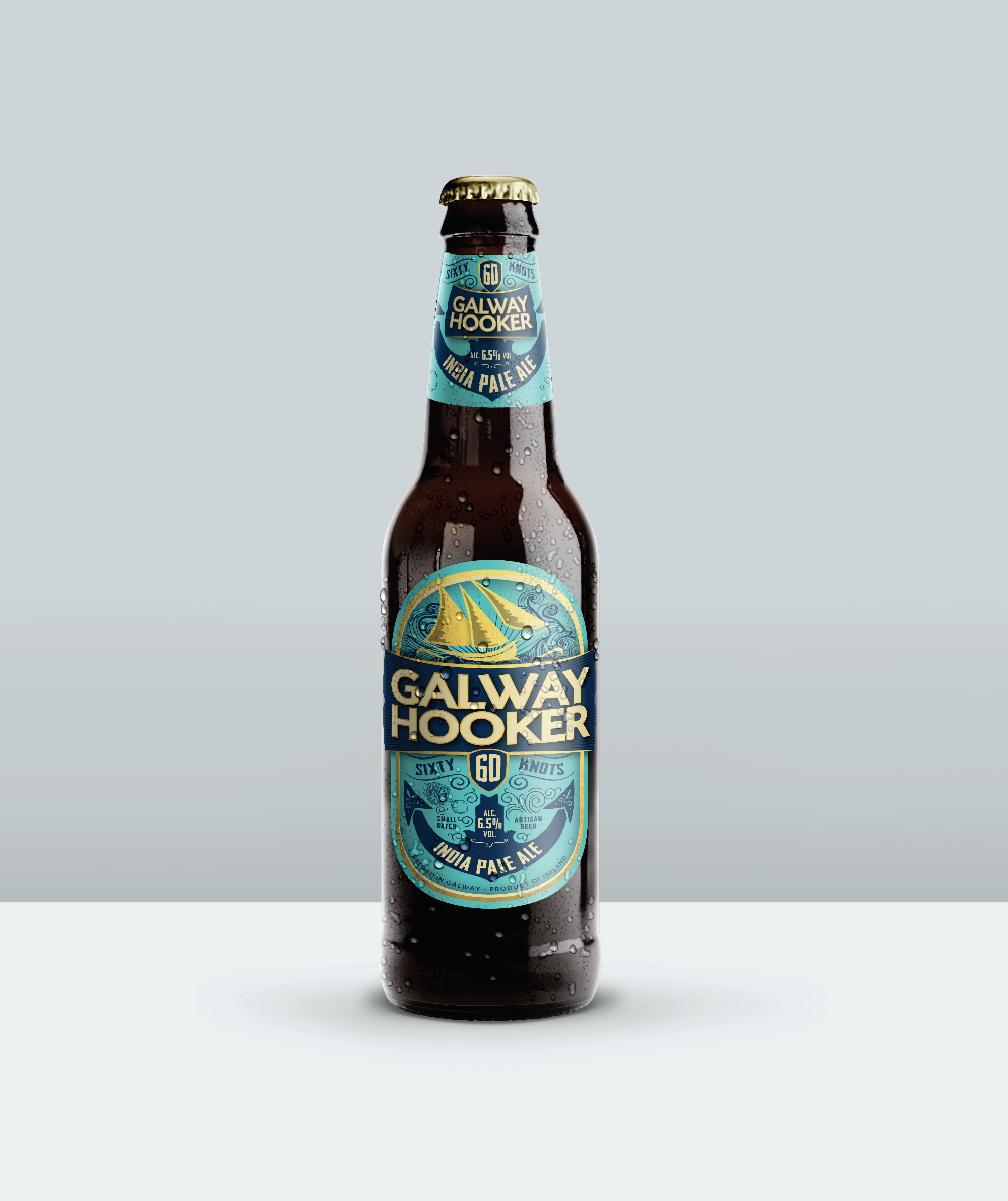 Cover image: Galway Hooker '60 Knots' IPA
