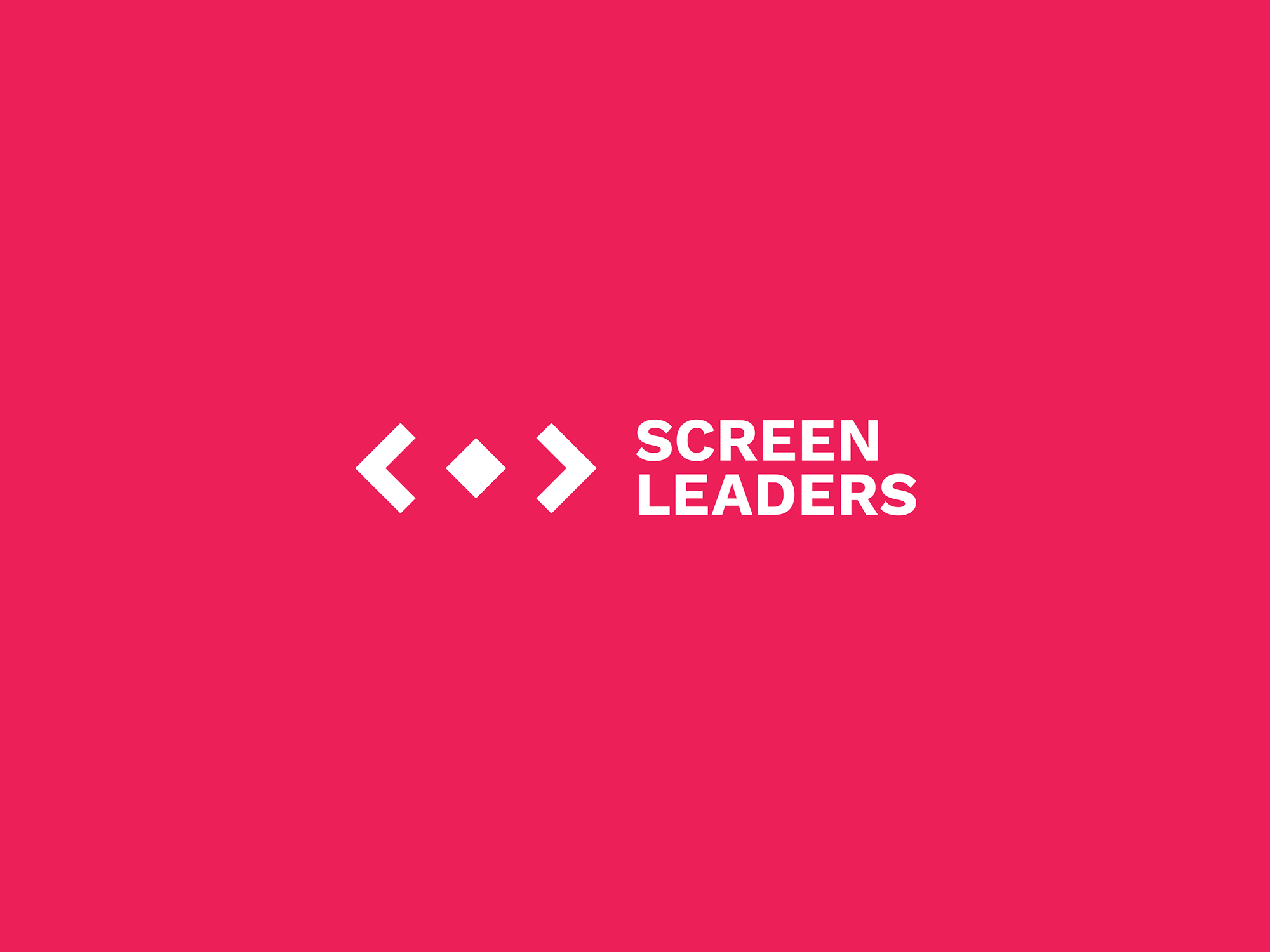 Cover image: Screen Leaders brand