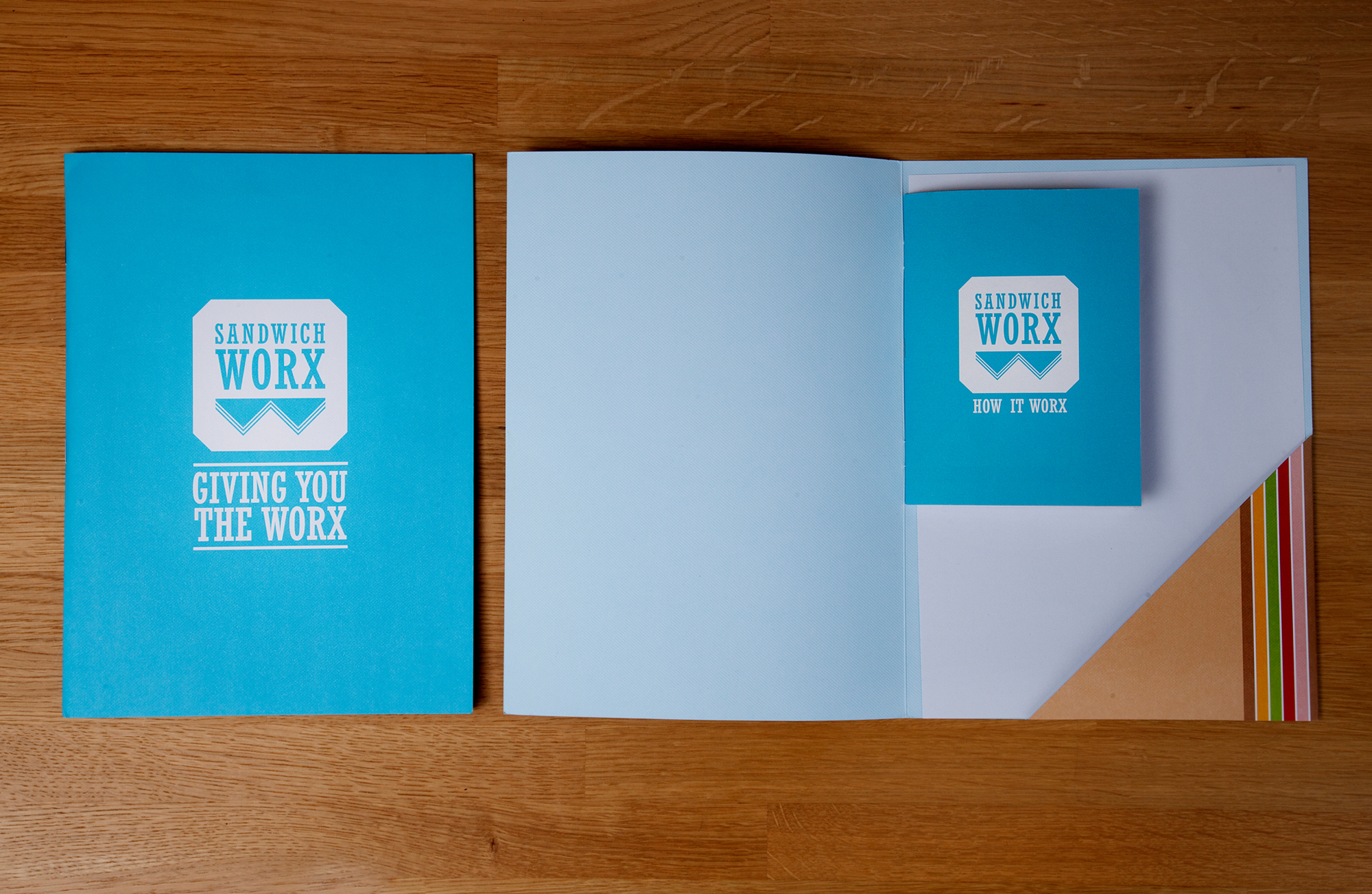 Cover image: Sandwich Worx Brochure
