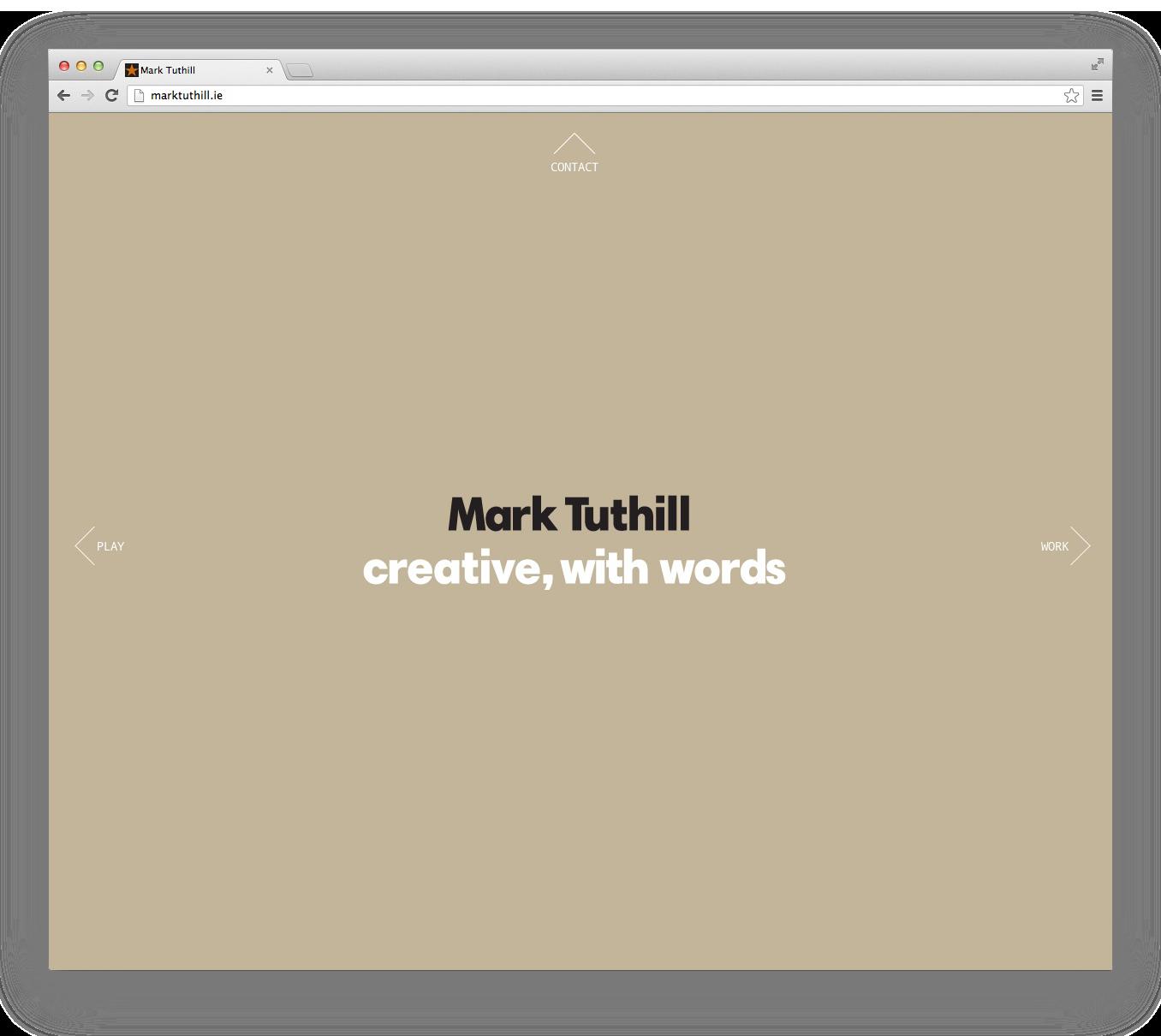 Cover image: Mark Tuthill Website