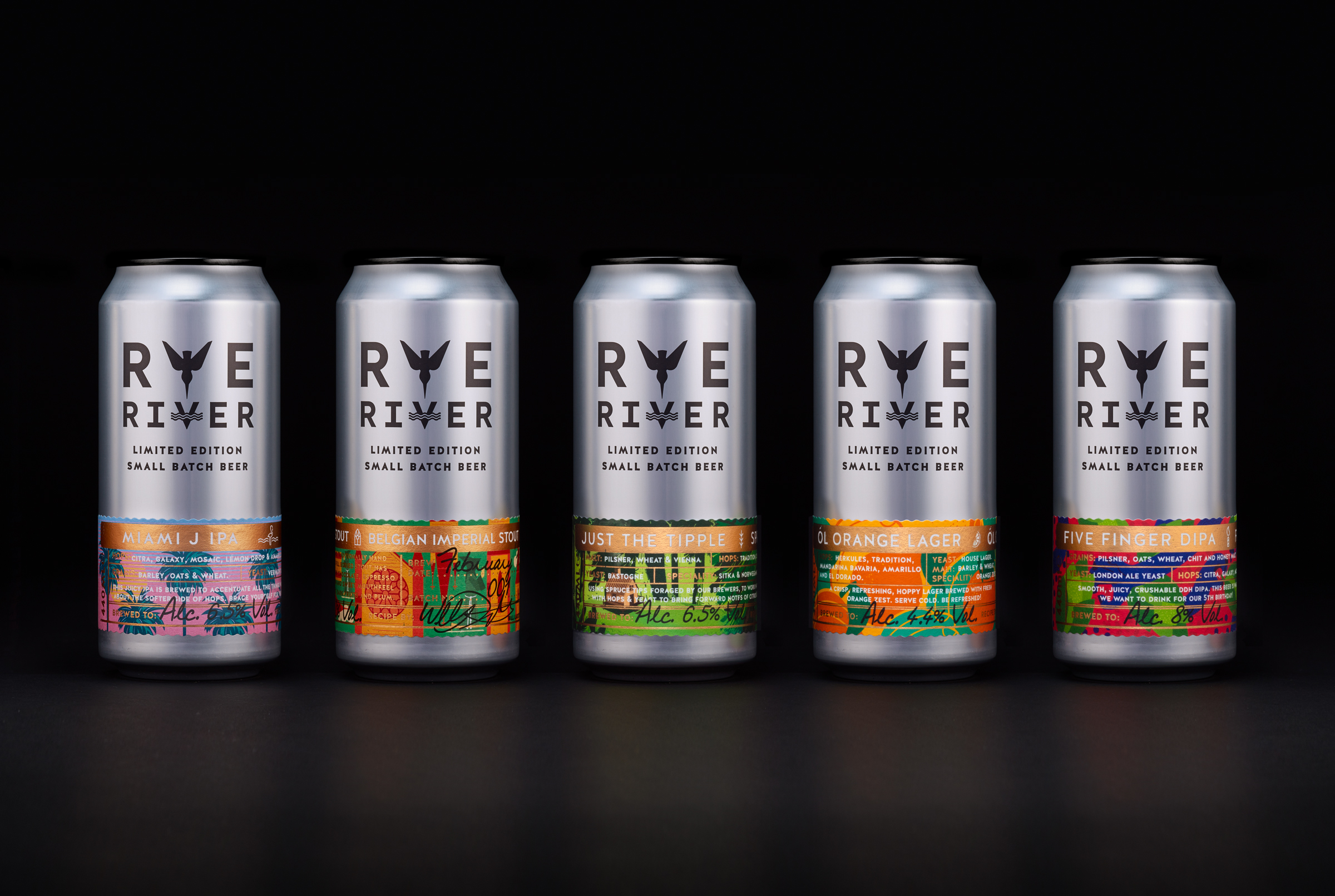 Cover image: Rye River Limited Edition Release Beers