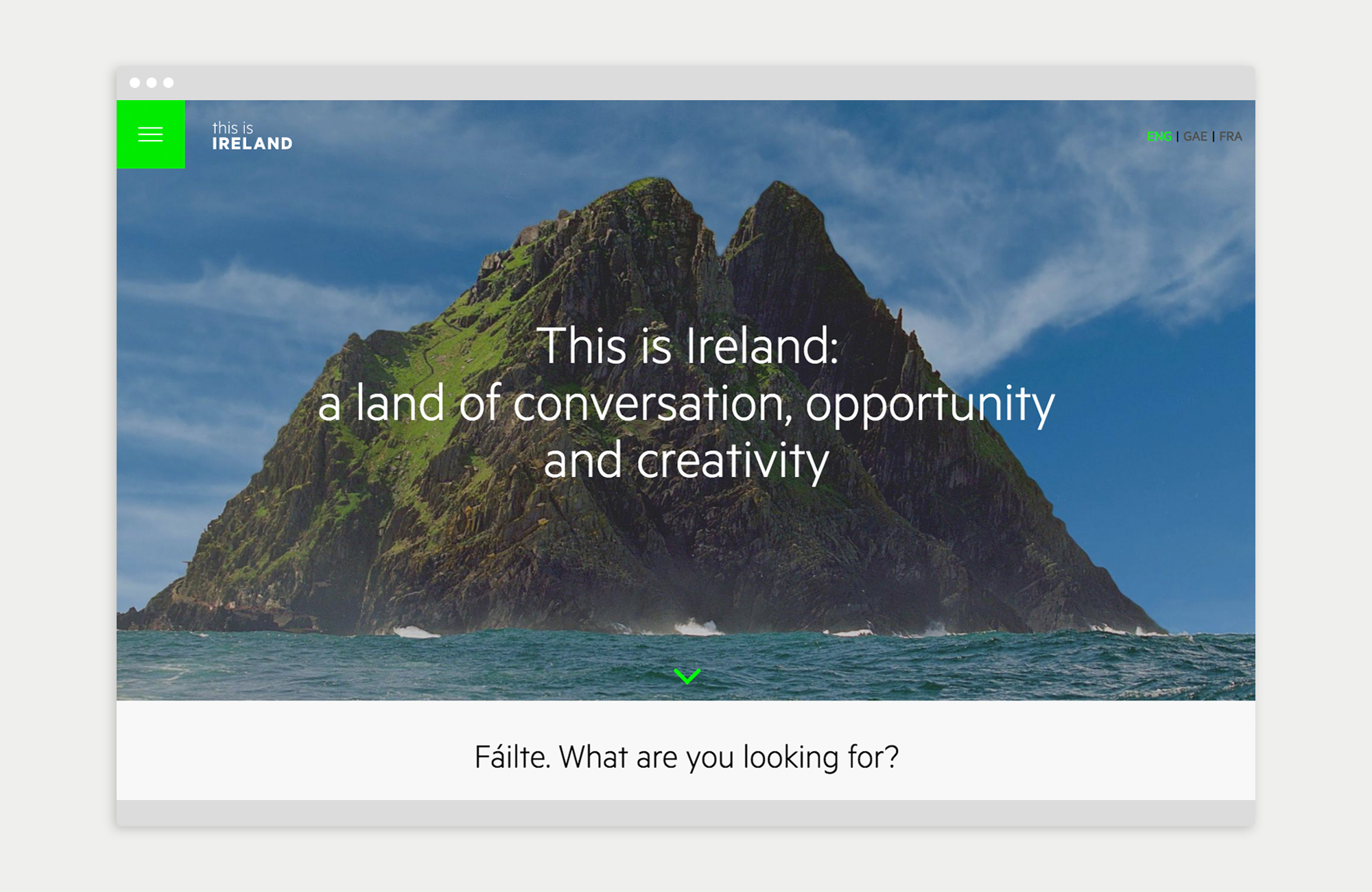 Cover image: This is Ireland (ireland.ie)