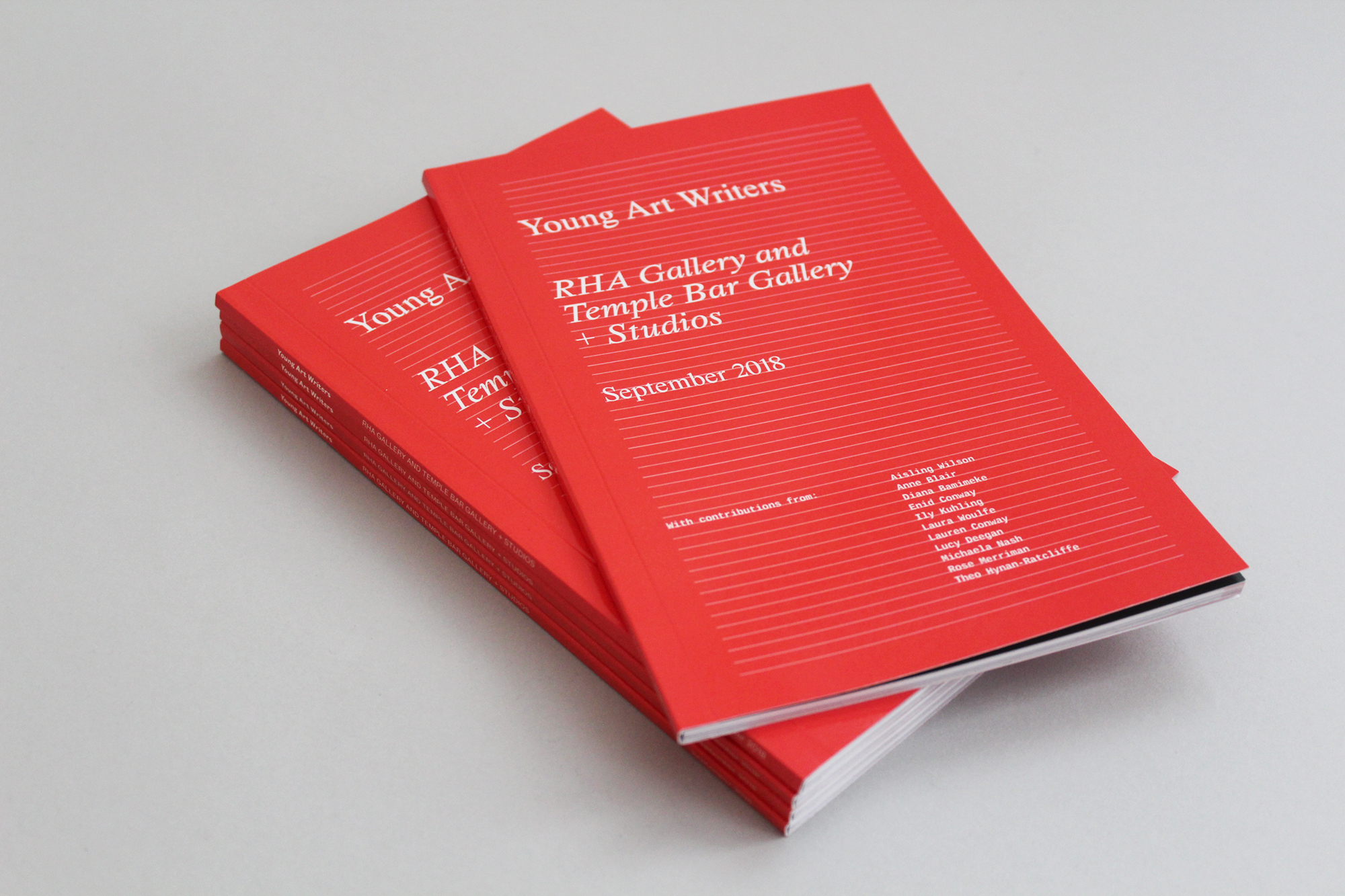 Cover image: Young Art Writers