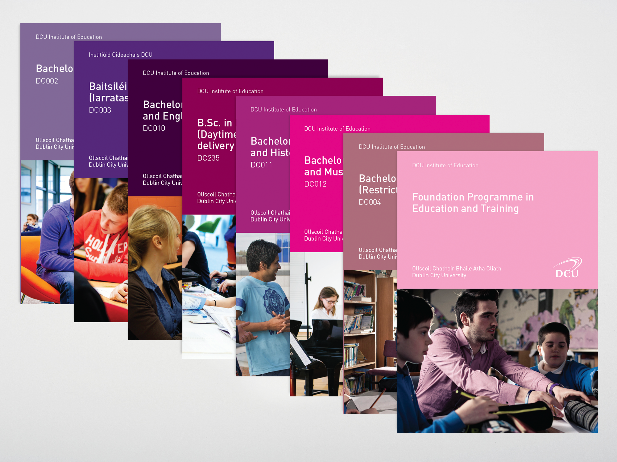 Cover image: DCU Course Pages